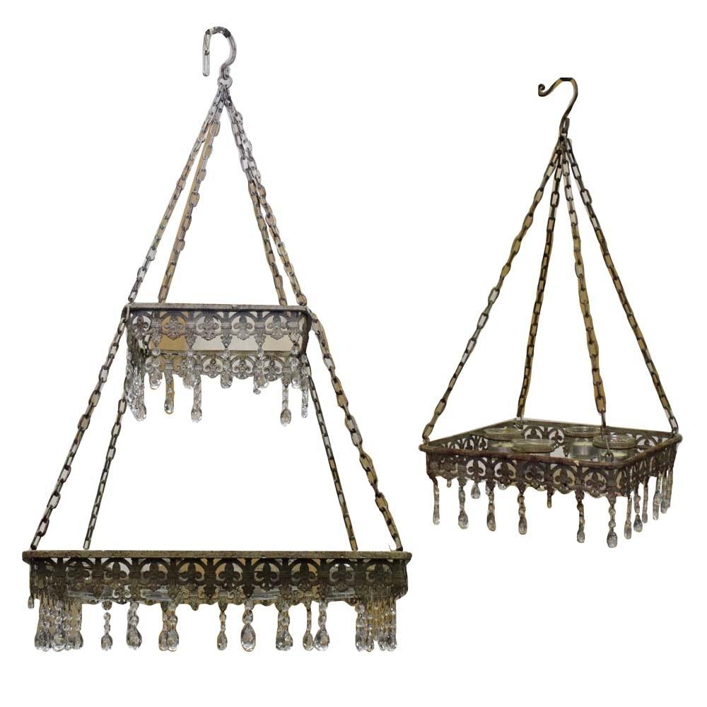 Provincial Patio Candeliers