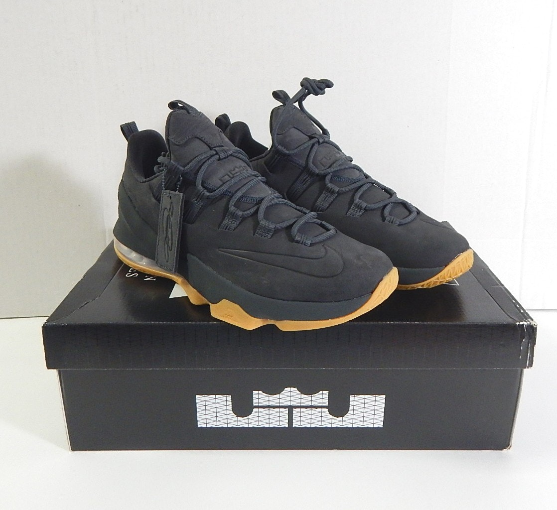 Nike Lebron James XIII Low Prm Black Shoes with Box - Size 11