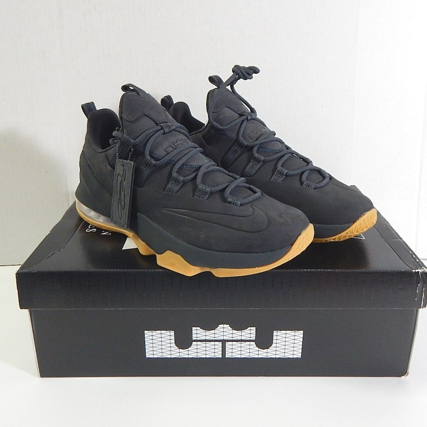 Nike Lebron James Xiii Low Prm Black Shoes With Box Size 11 Ebth