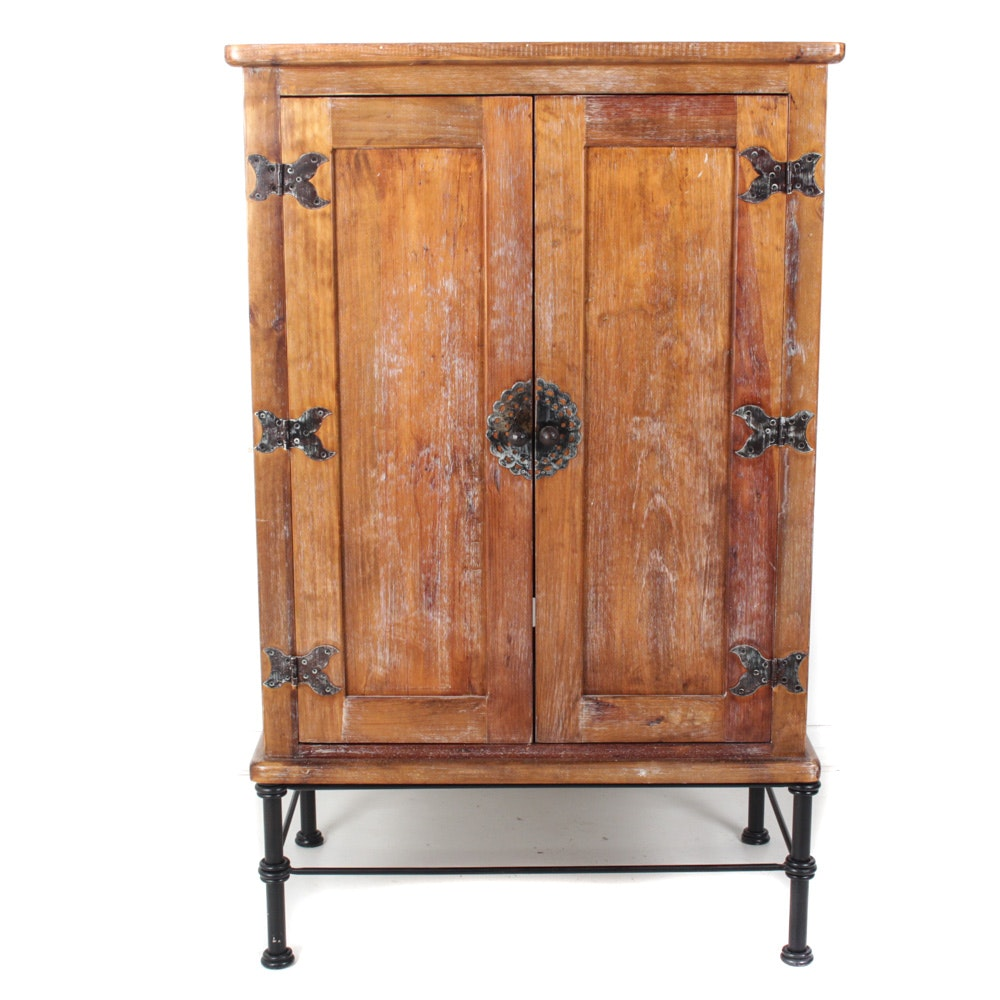 Arhaus Solid Wood Antique Style Armoire ...