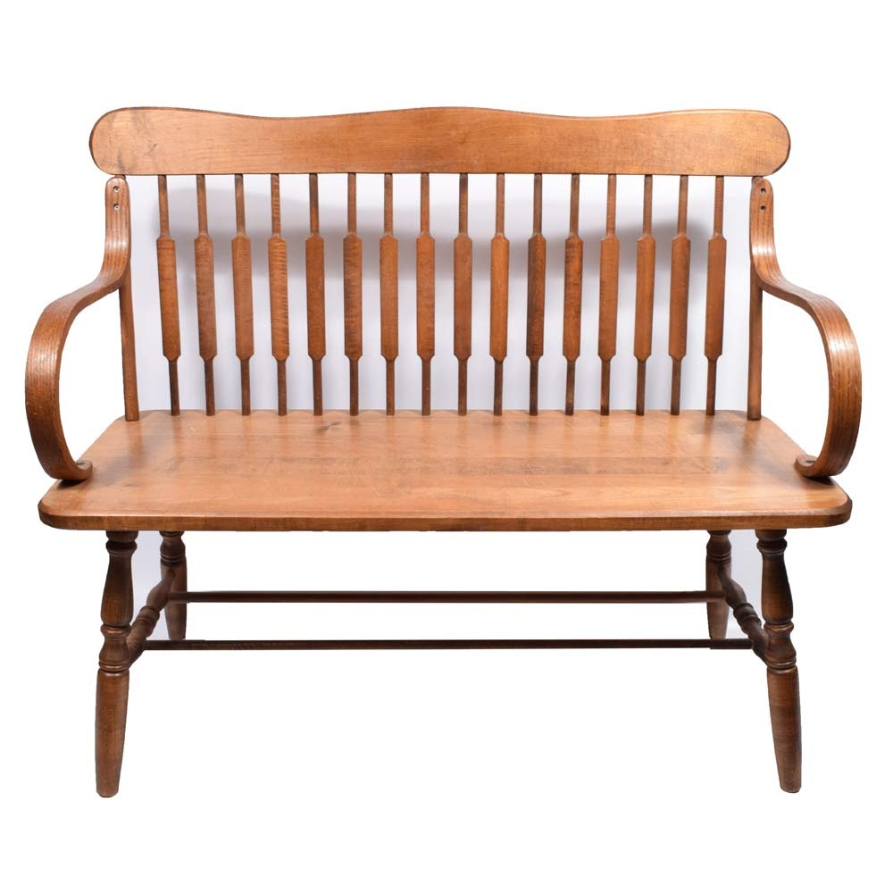 Colonial Revival Style Bench