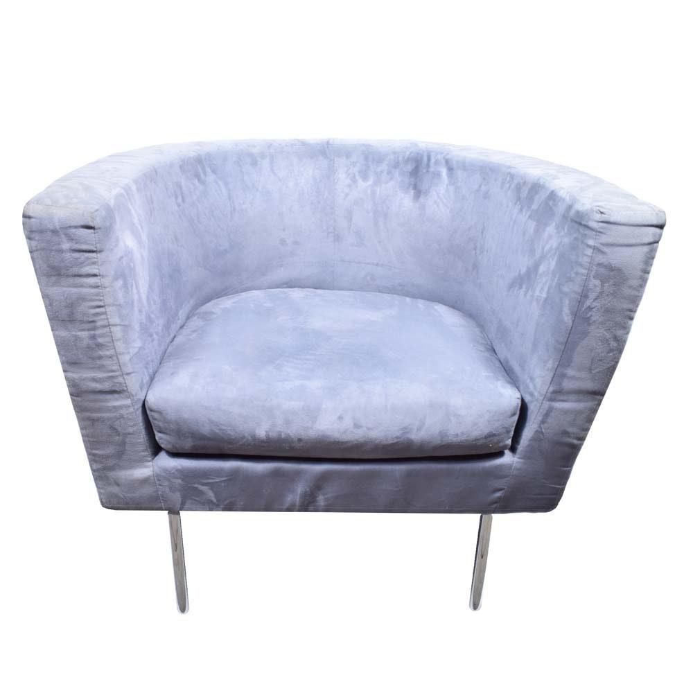 Modernist Barrel Chair