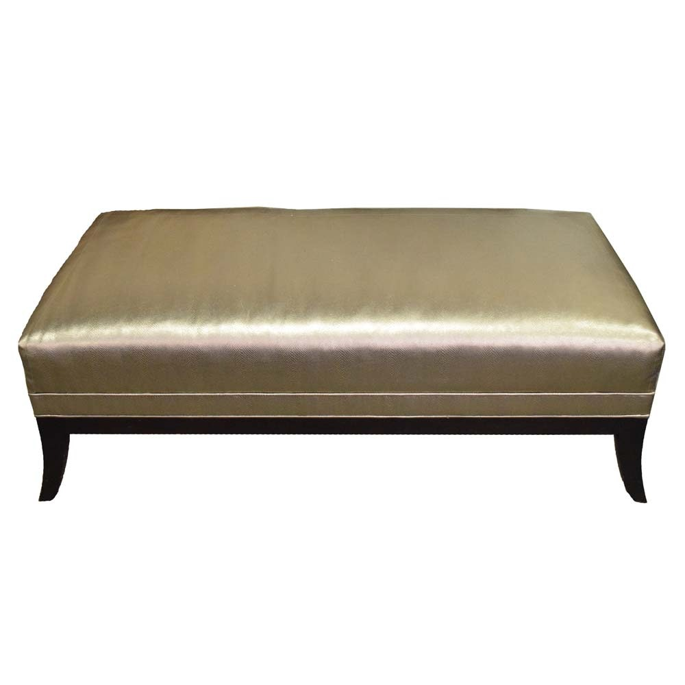 Contemporary Upholstered Bench by Thomasville