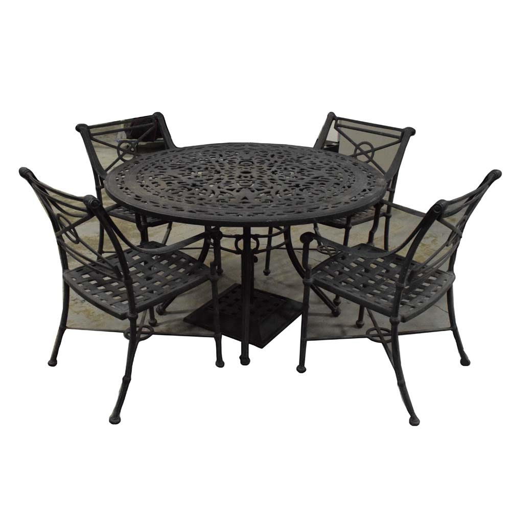 Regency Style Patio Set