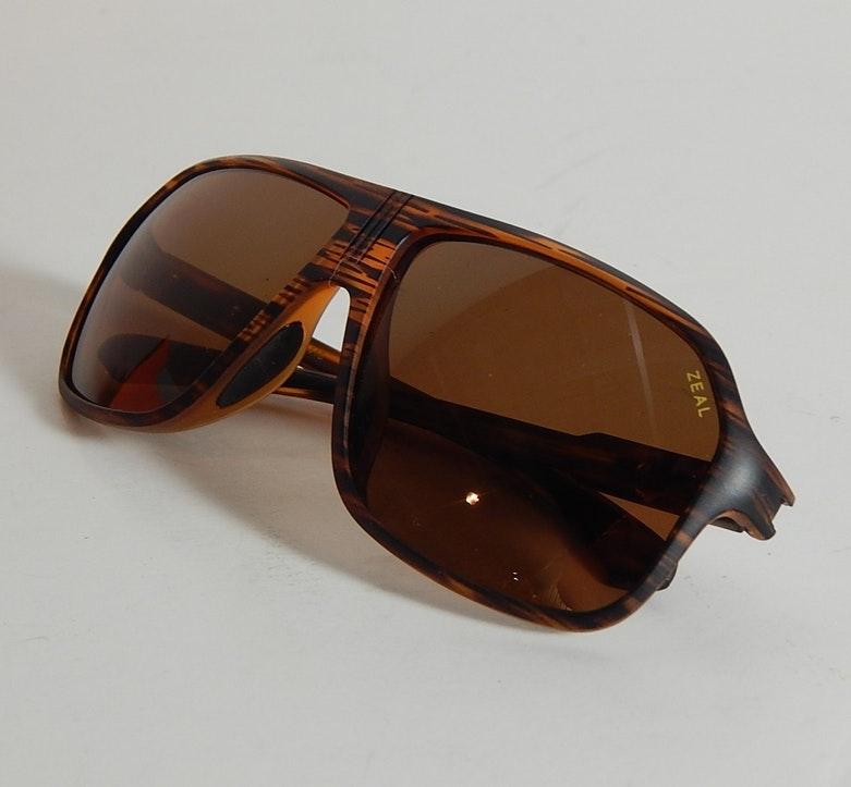 """Zeal """"Sawyer"""" Retro Styled Polarized Sunglasses"""