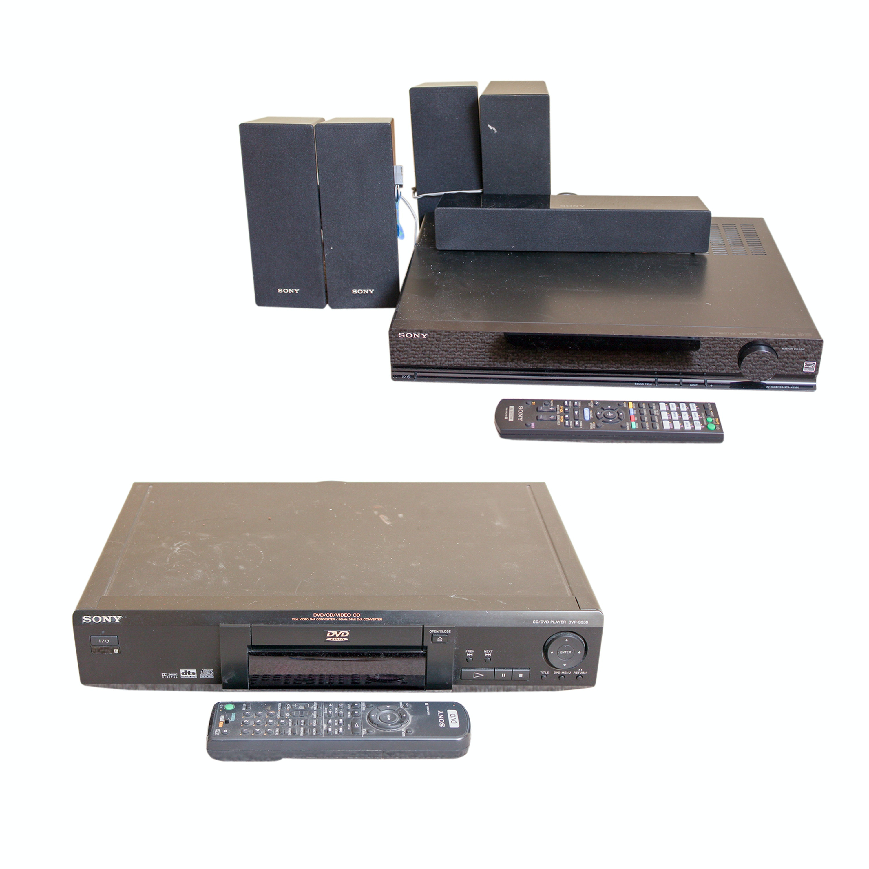 Sony Home Theater System and DVD/CD Player