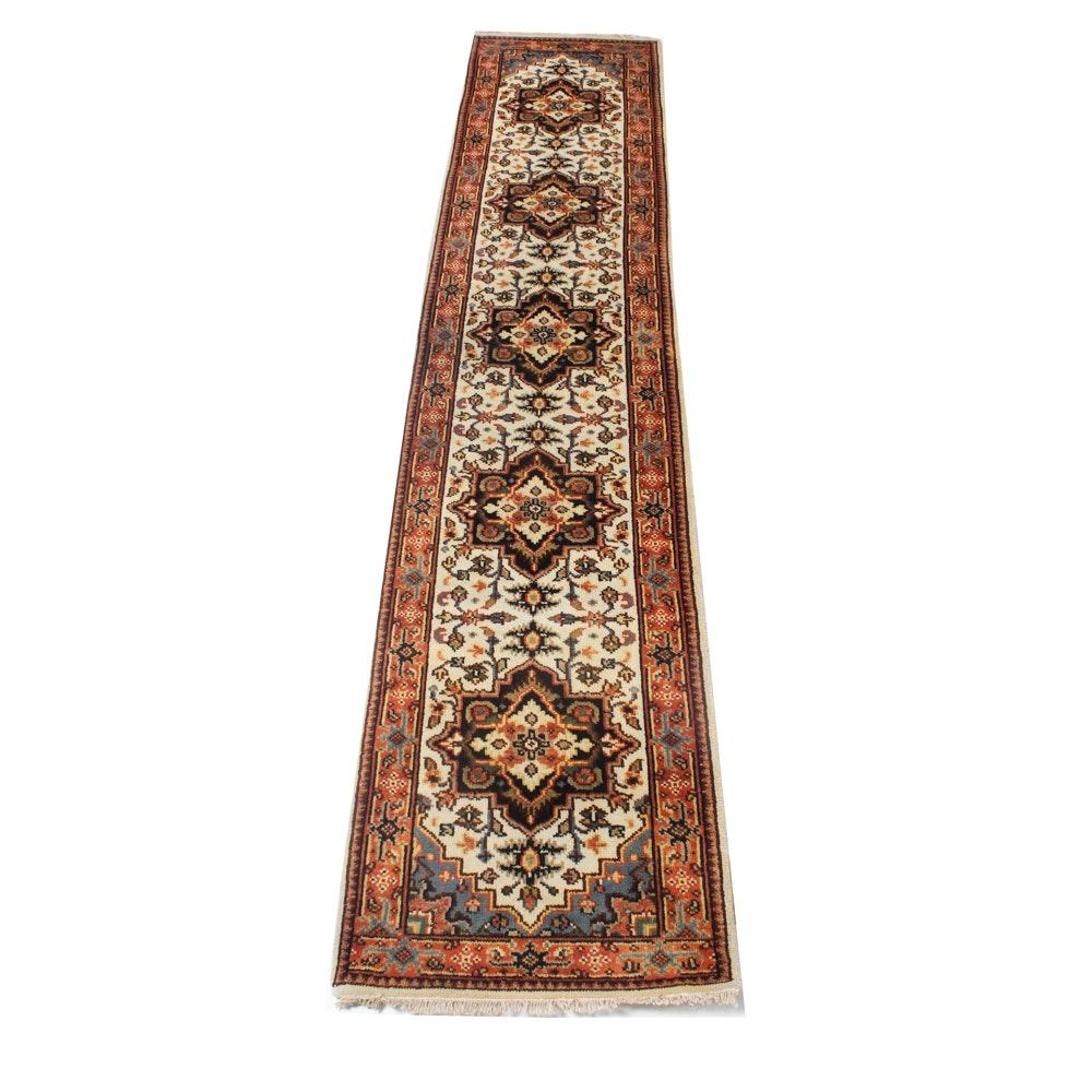 3' x 12' Hand-Knotted Indo-Persian Bakhshayesh Heriz Runner