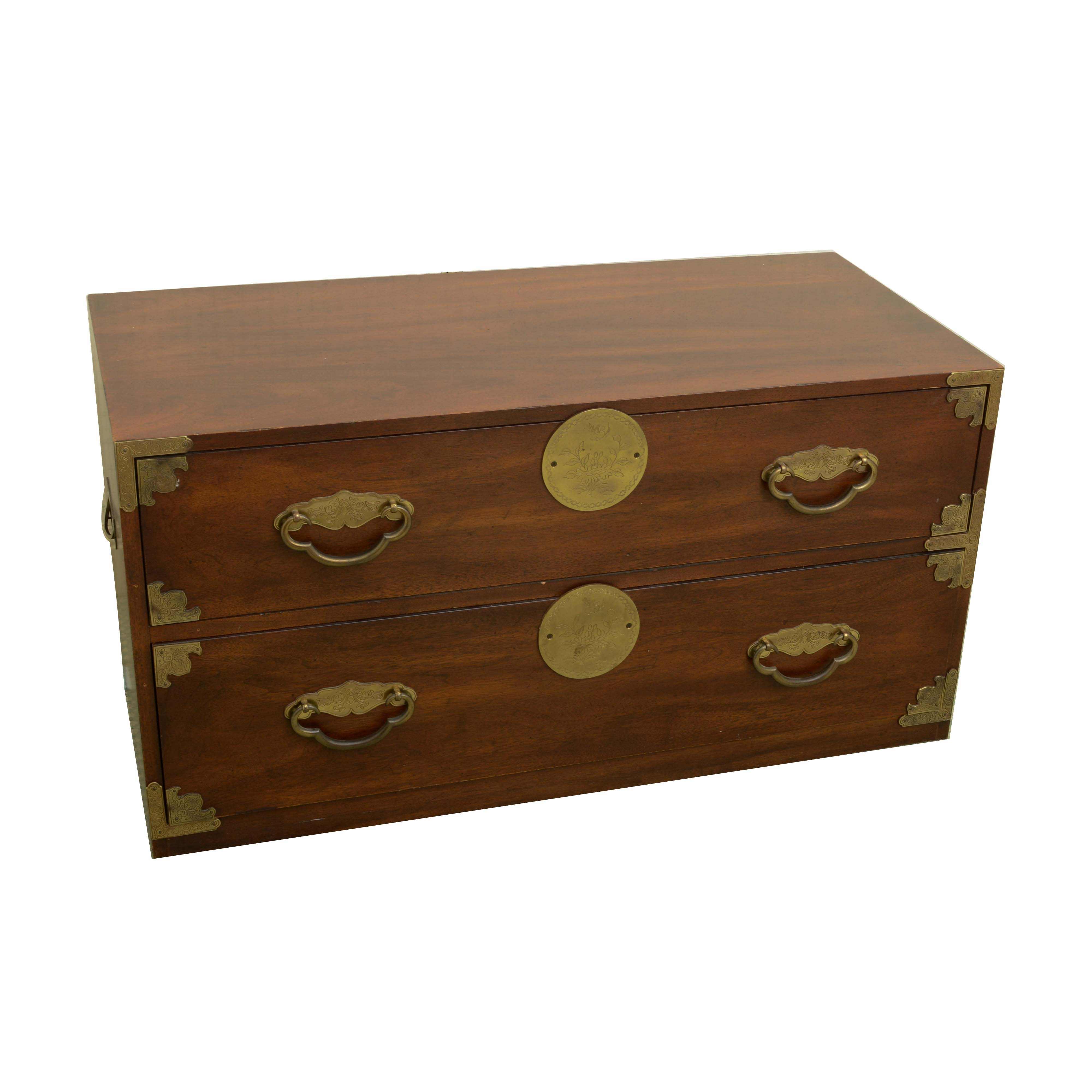 Chinese Inspired Tabletop Chest of Drawers by Henredon