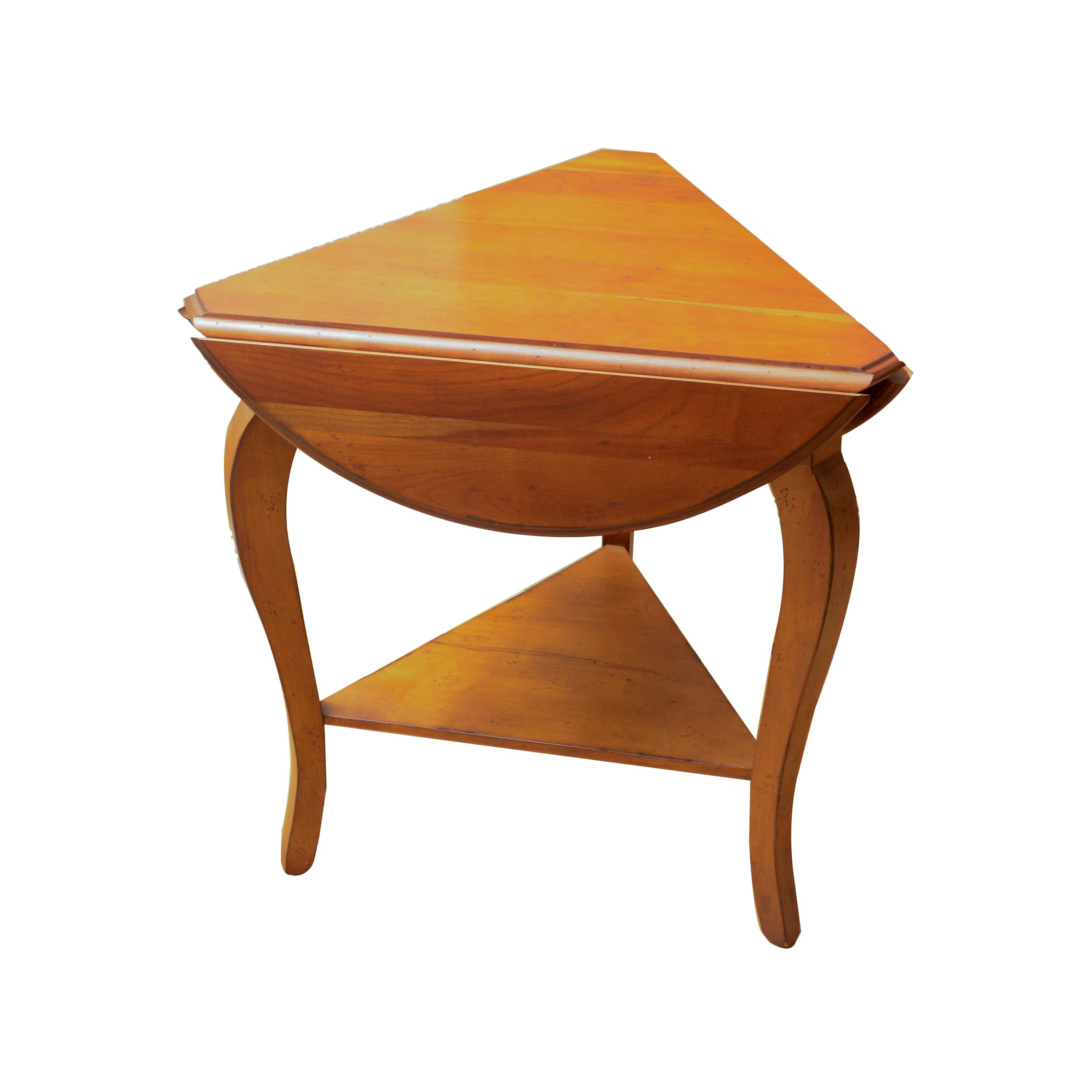 Handkerchief Drop-Leaf Accent Table