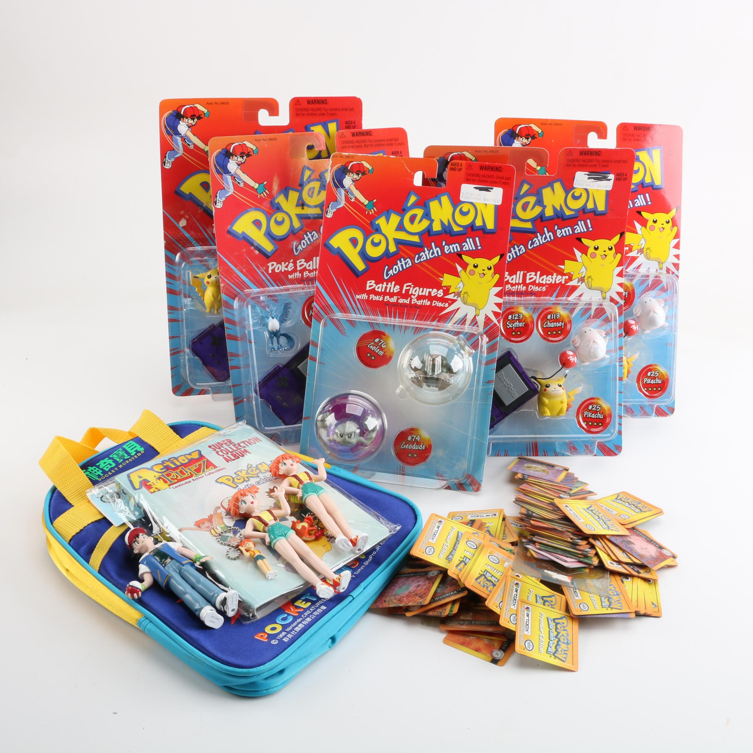 Pokémon Cards, Action Figures, Tote and More