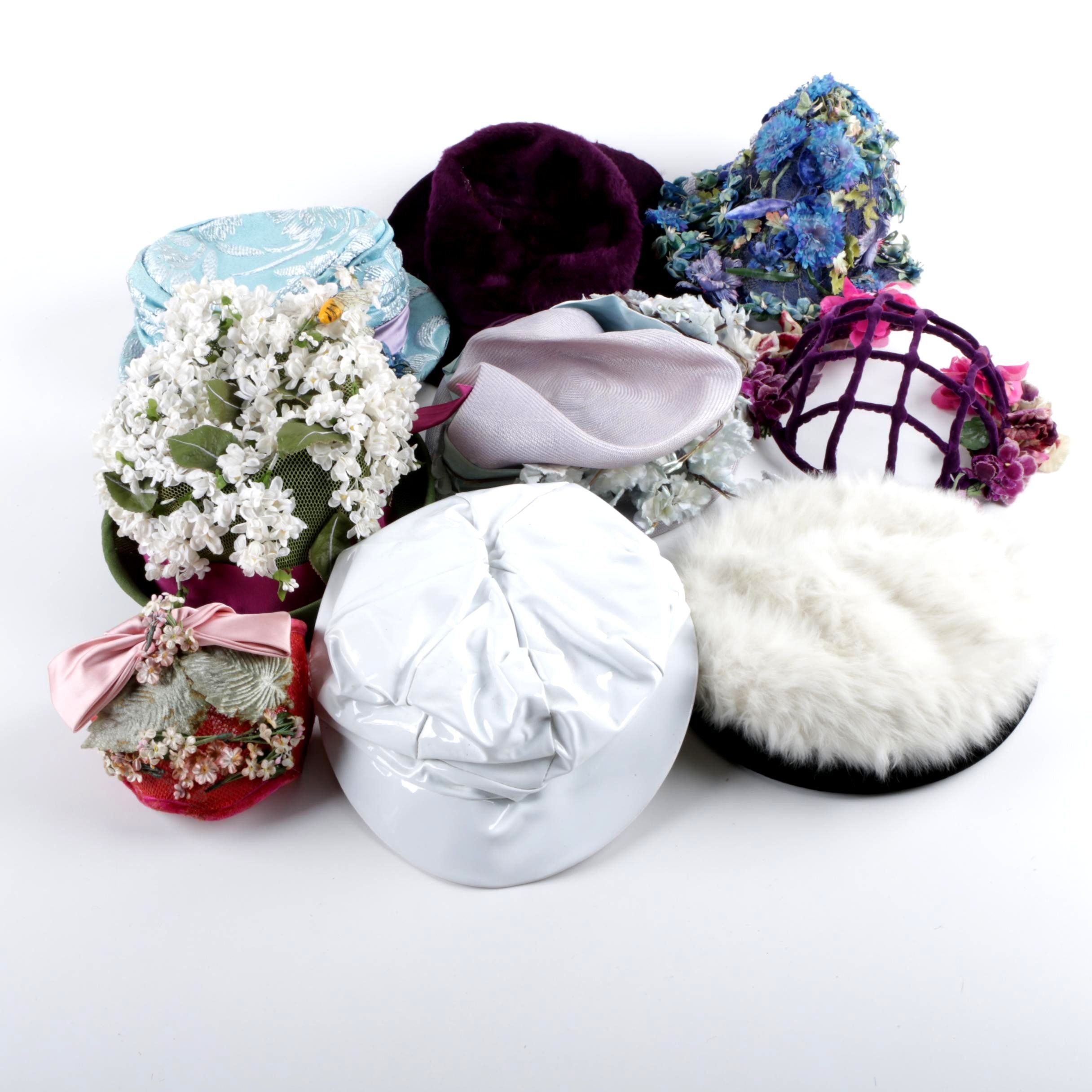 Vintage Hats and Headwear Including Gwenn Pennington