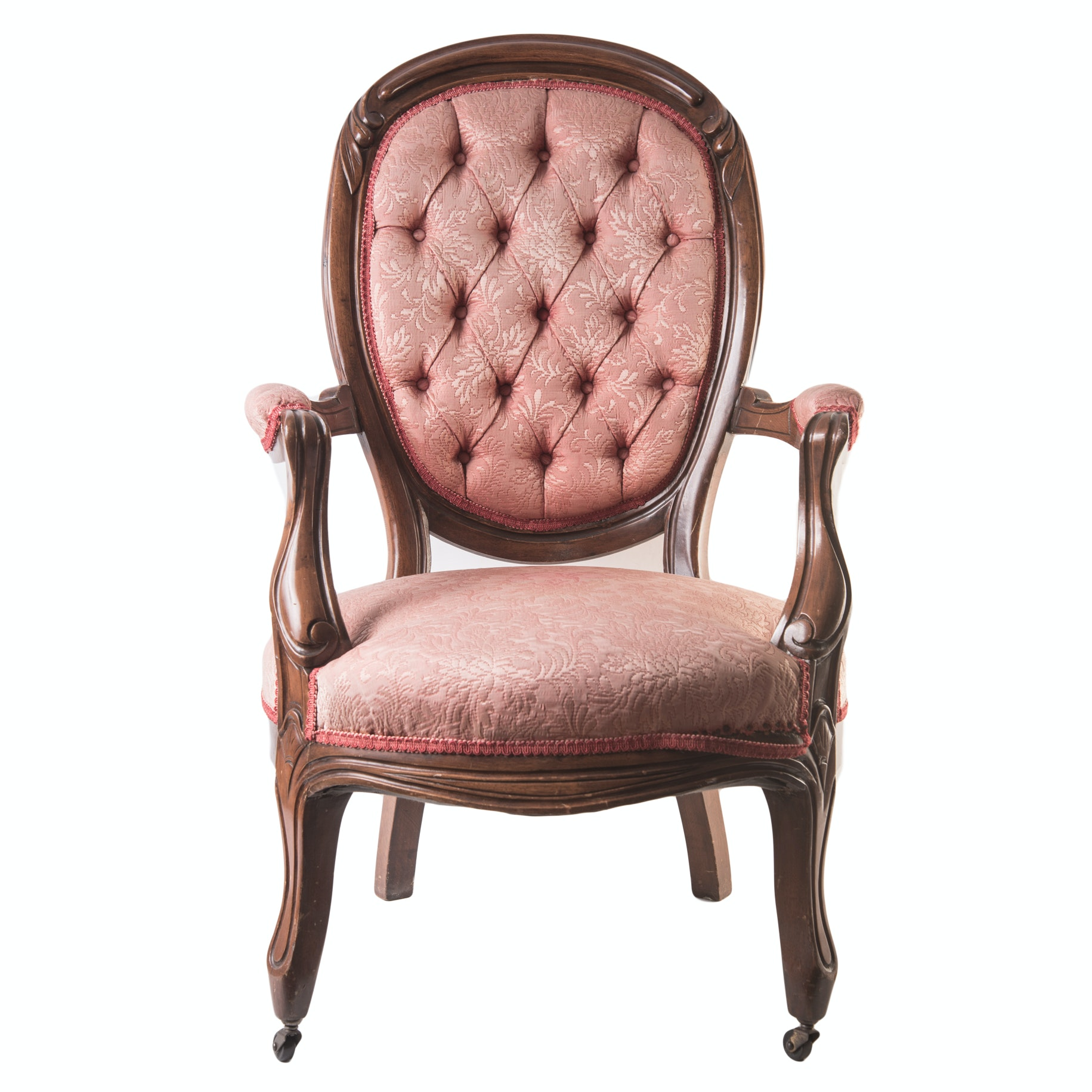 Vintage Victorian Style Parlor Chair