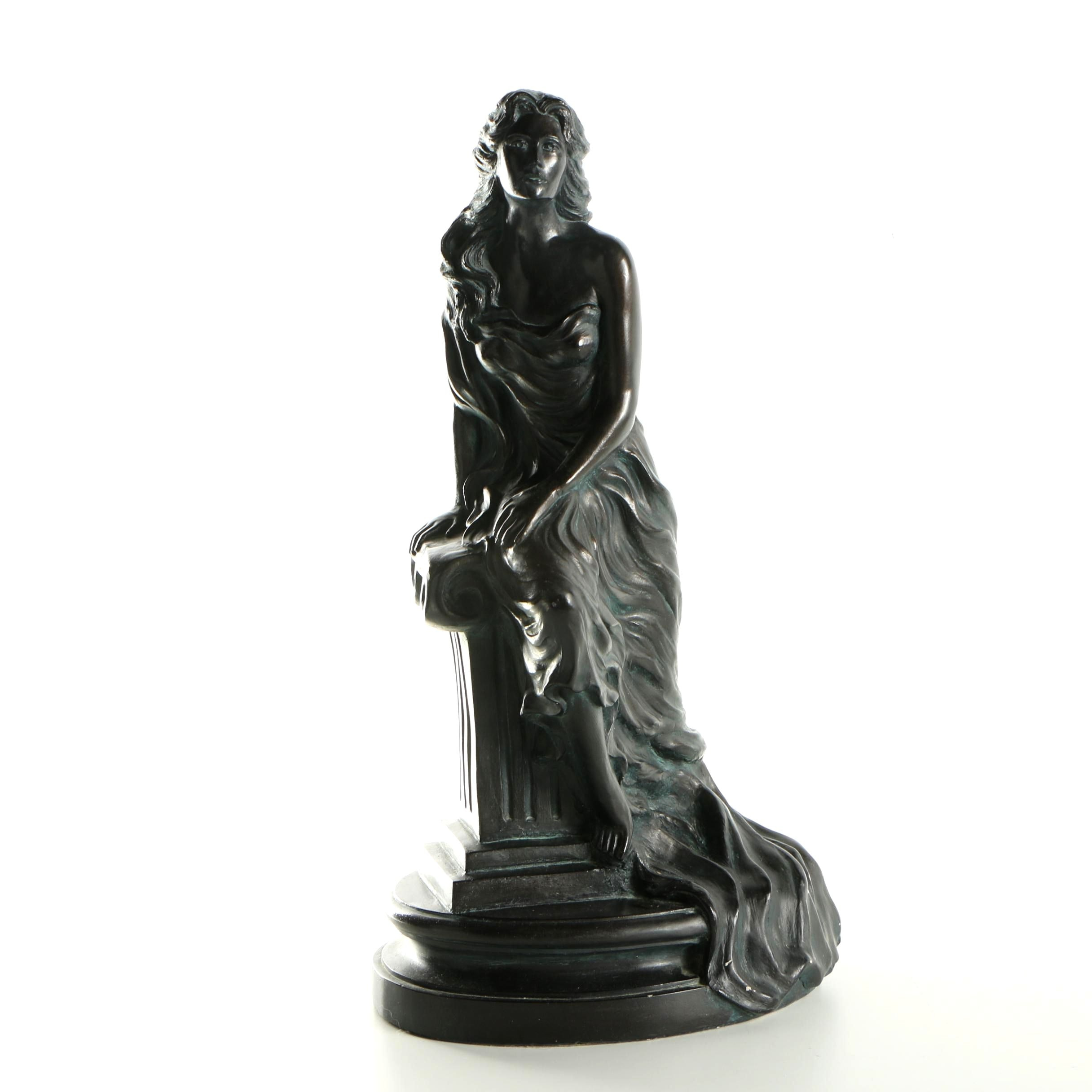 Alice Heath Metal And Plaster Sculpture