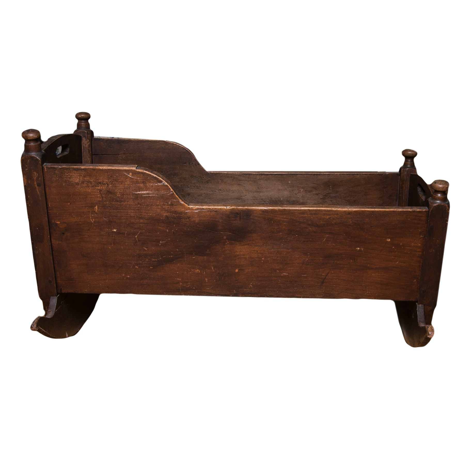 Antique Oak Cradle