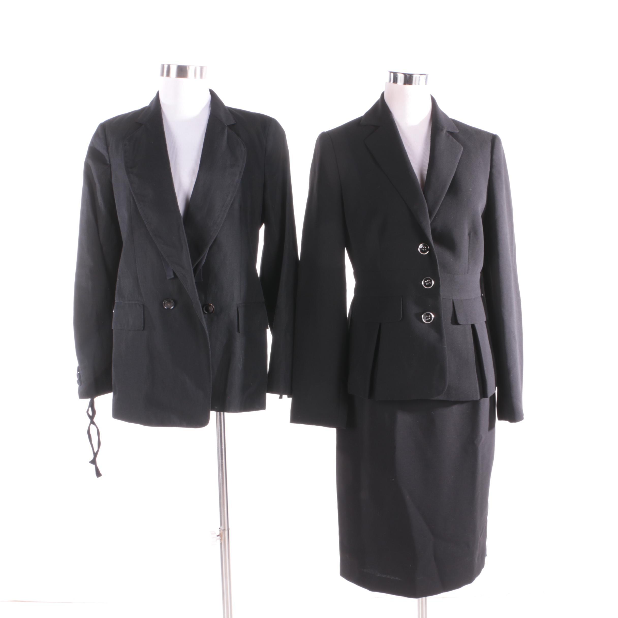 Women's Calvin Klein Skirt Suit and 3.1 Phillip Lim Jacket