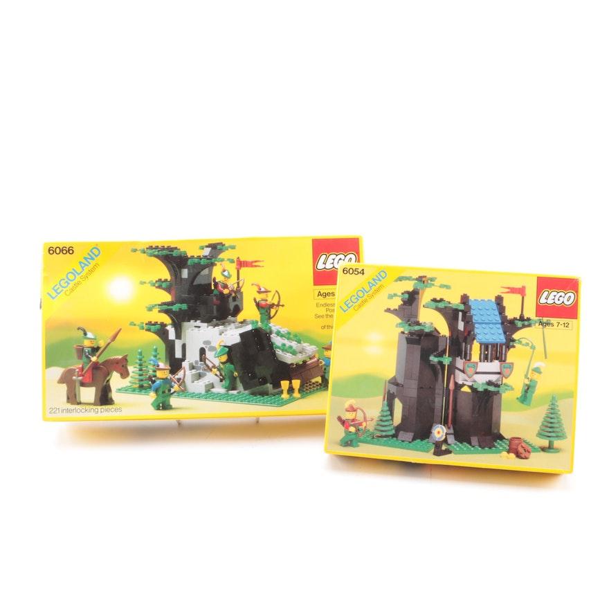 Lego Legoland Castle System 6066 And 6054 Sets Ebth
