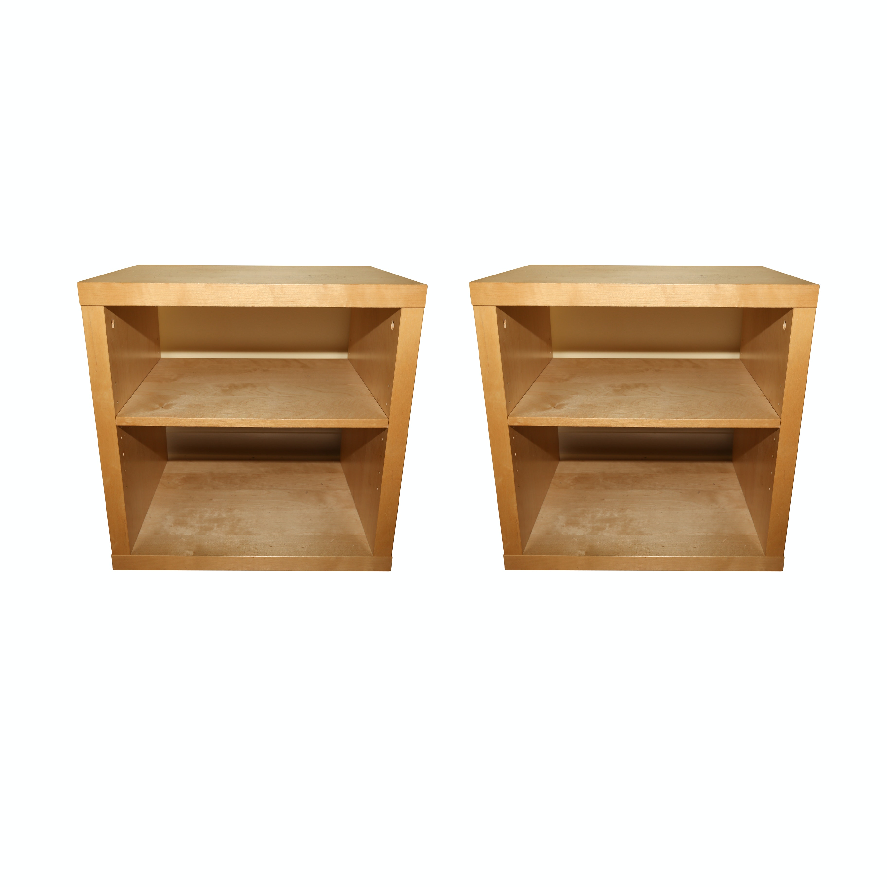 Maple Finish End Tables