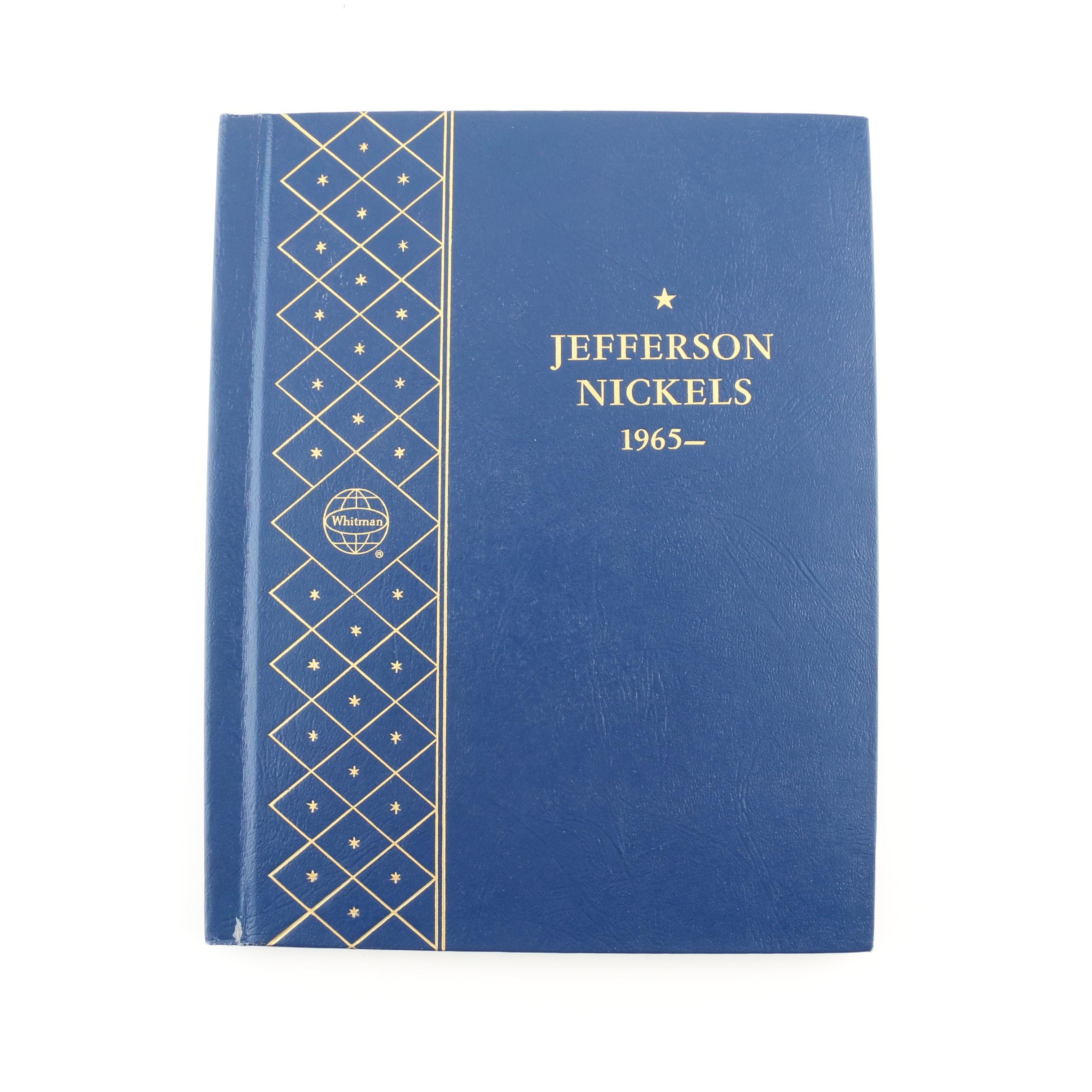 Whitman Binder of Jefferson Nickels