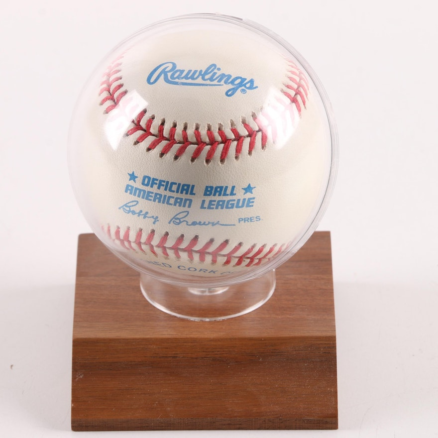 14c64829195 Nolan Ryan Autographed Baseball- JSA COA   EBTH