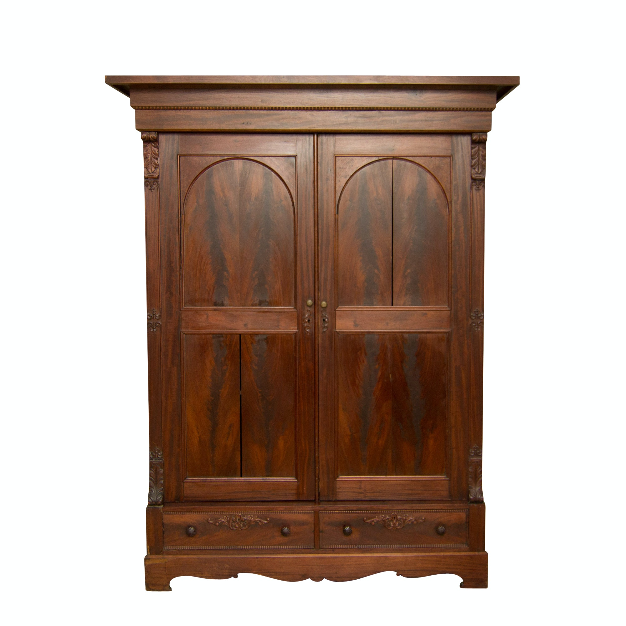 Antique Knock Down Armoire