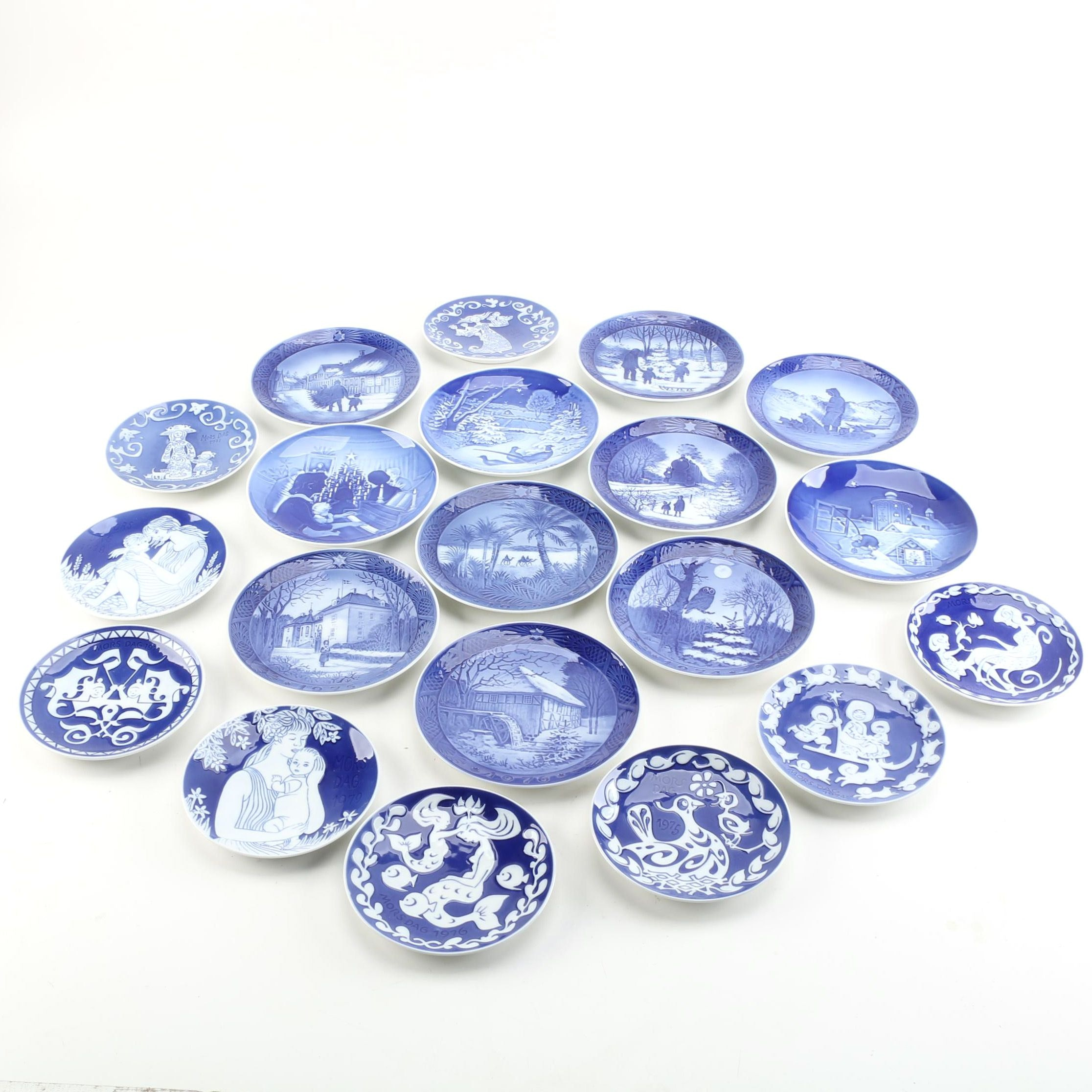 Royal Copenhagen Porcelain Collector Plates