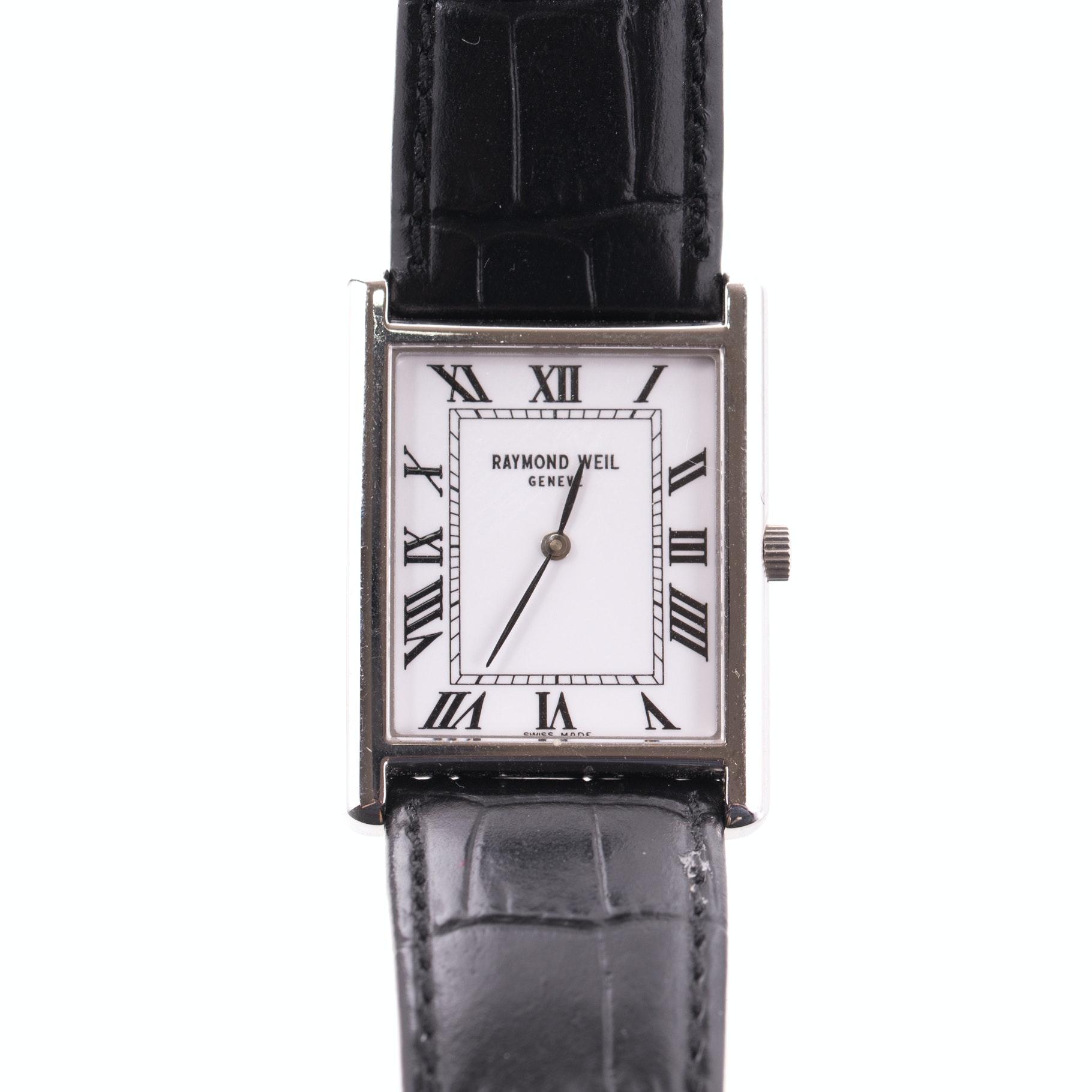 Raymond Weil Stainless Steel Wristwatch