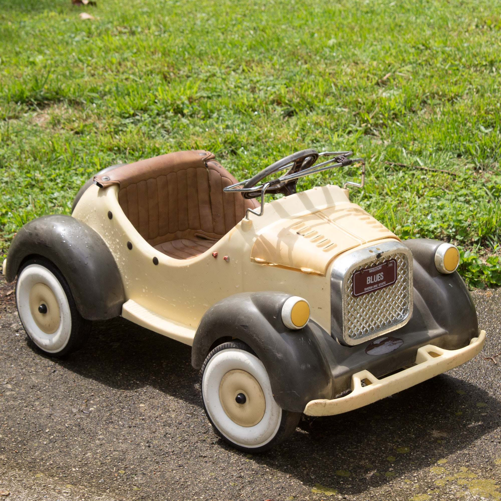 Vintage Battery Operated Ride On Car