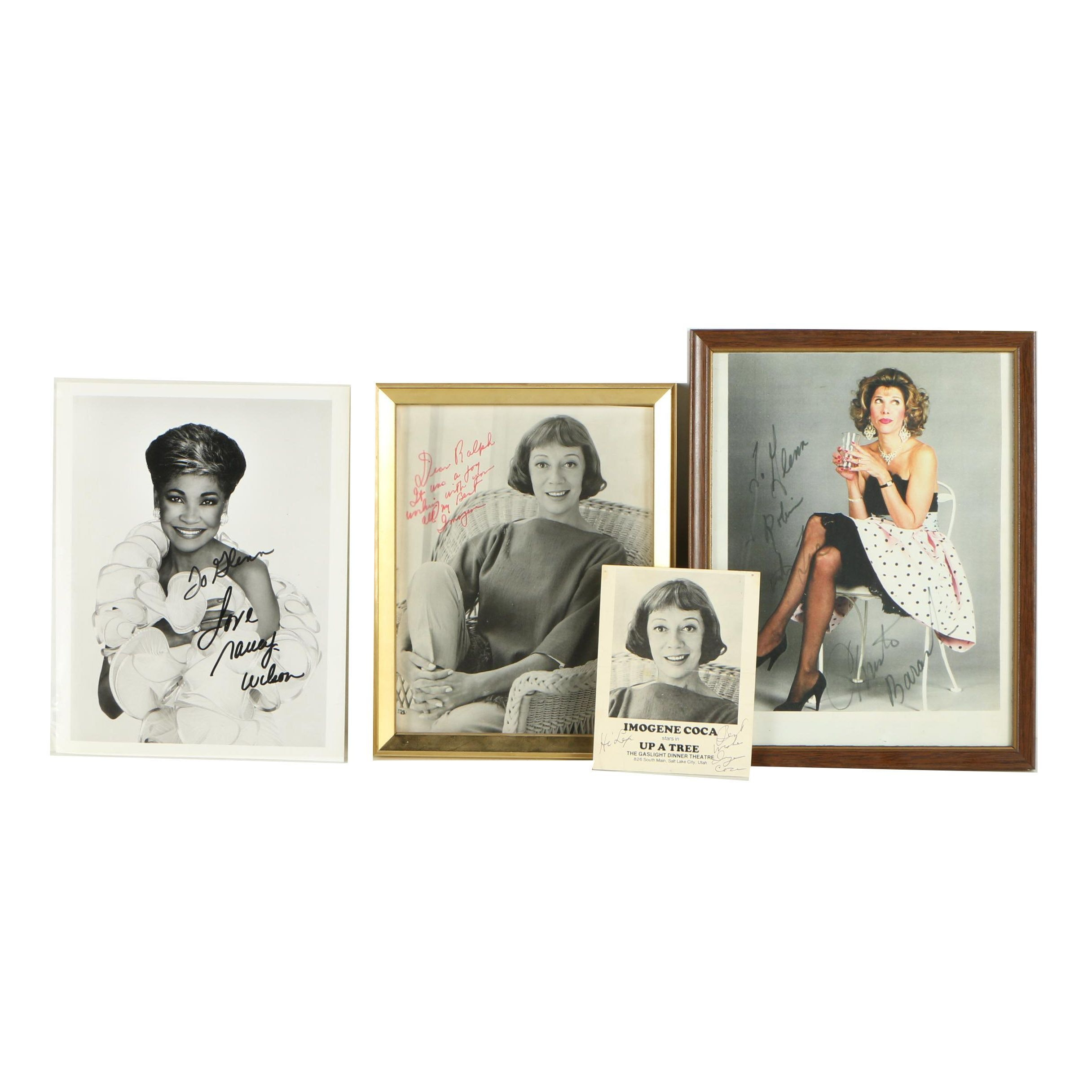 Vintage and Contemporary Autographed Portraits