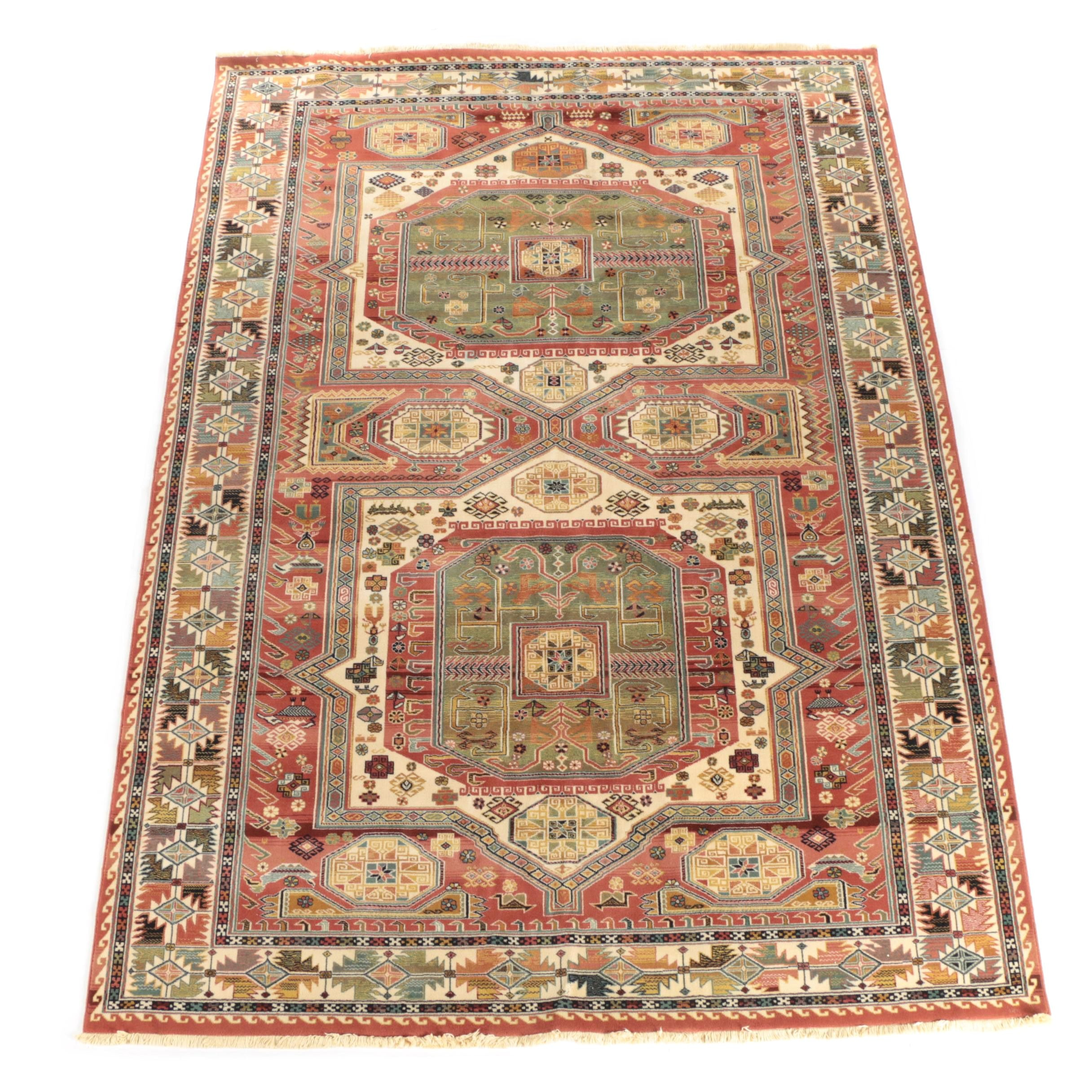 """Power-Loomed Couristan """"Topaz"""" Wool Area Rug"""