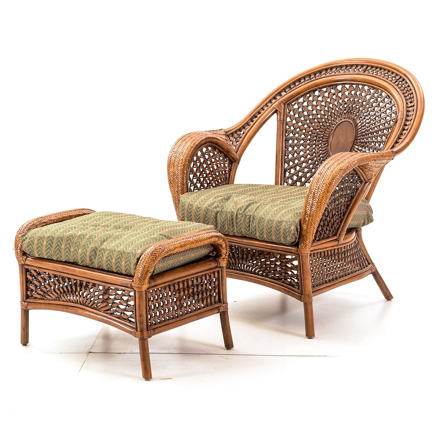 Outstanding Pier One Wicker Chair With Ottoman Andrewgaddart Wooden Chair Designs For Living Room Andrewgaddartcom