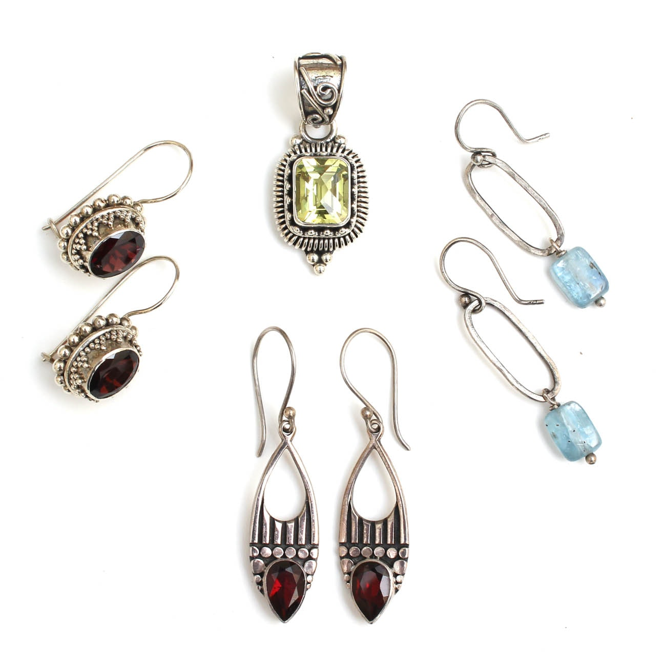 Suarti of Bali Sterling Silver Jewelry with Gemstones