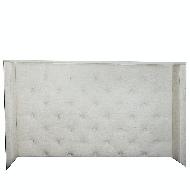 White Upholstered Headboard