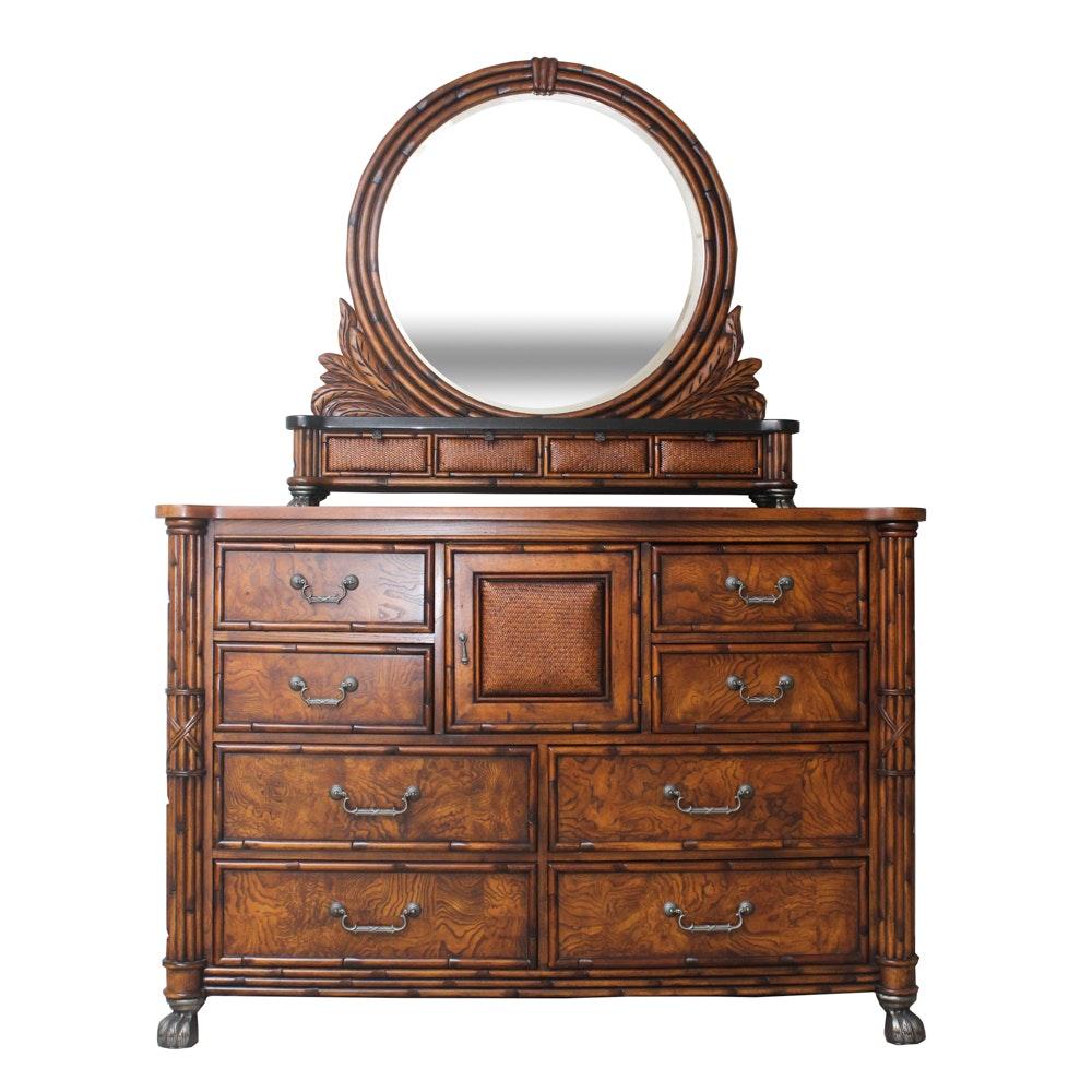 American Signature Dresser With Mirror