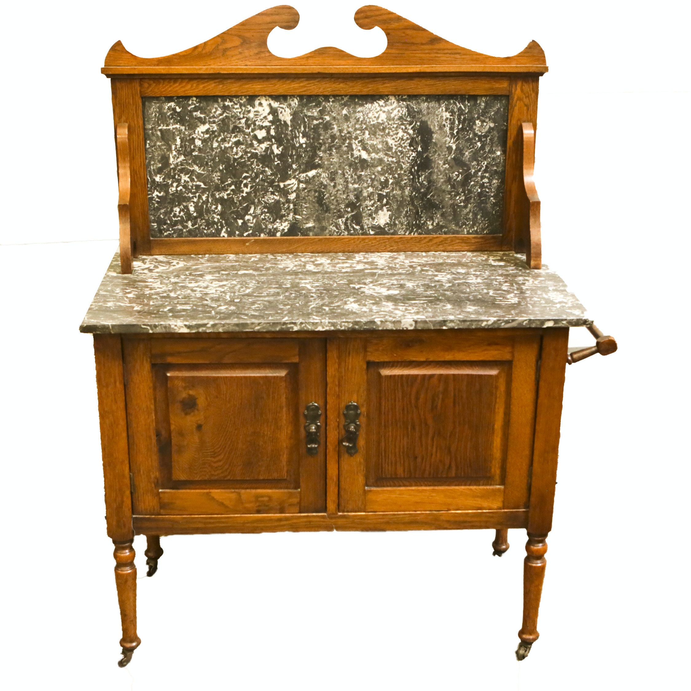 Vintage Oak Washstand