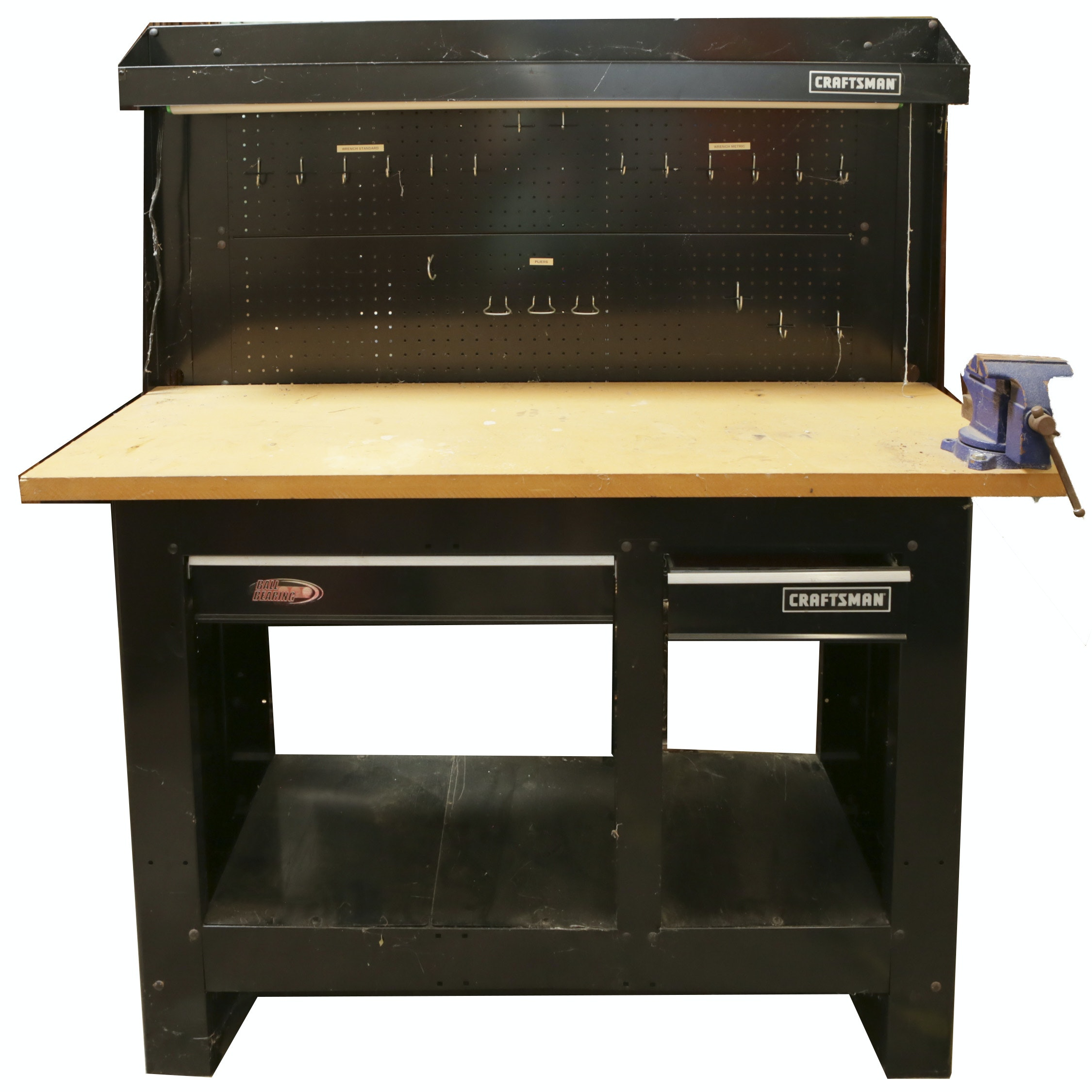 Craftsman Work Bench with Vice