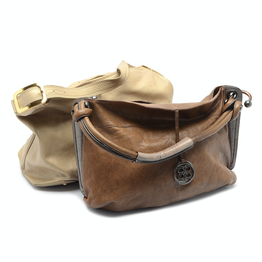 6cb27146af3a Leather Hobo Bags by Cole Haan and BCBG   EBTH