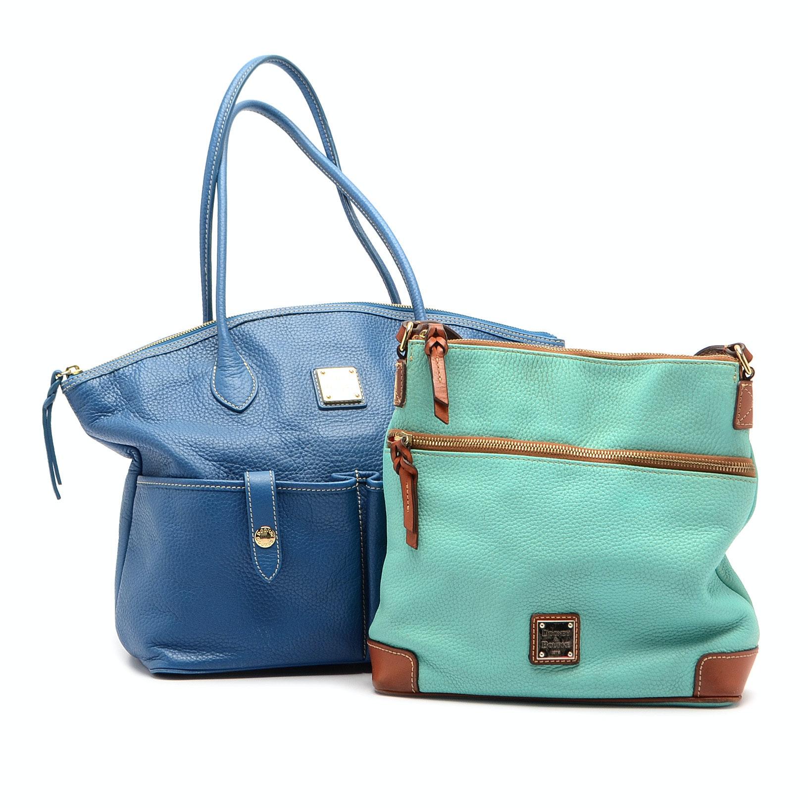 Dooney & Bourke Pebbled Leather Handbags