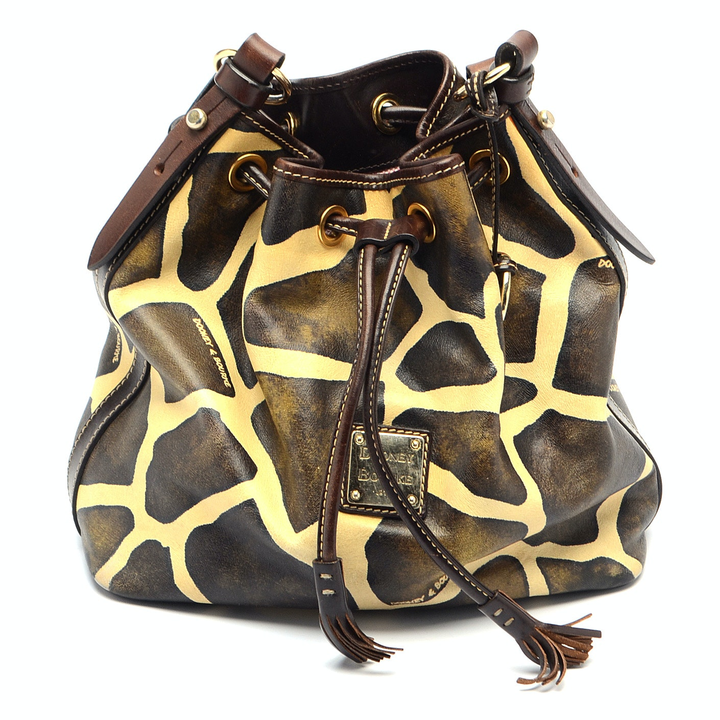 Dooney & Bourke Giraffe Bucket Bag