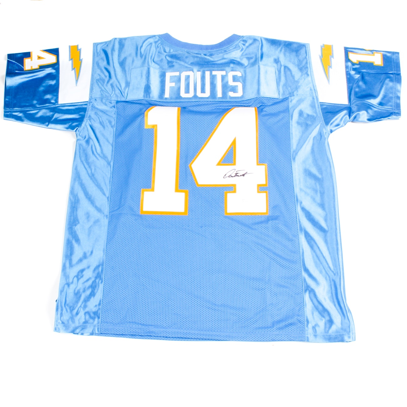 Dan Fouts Signed Chargers Jersey  COA