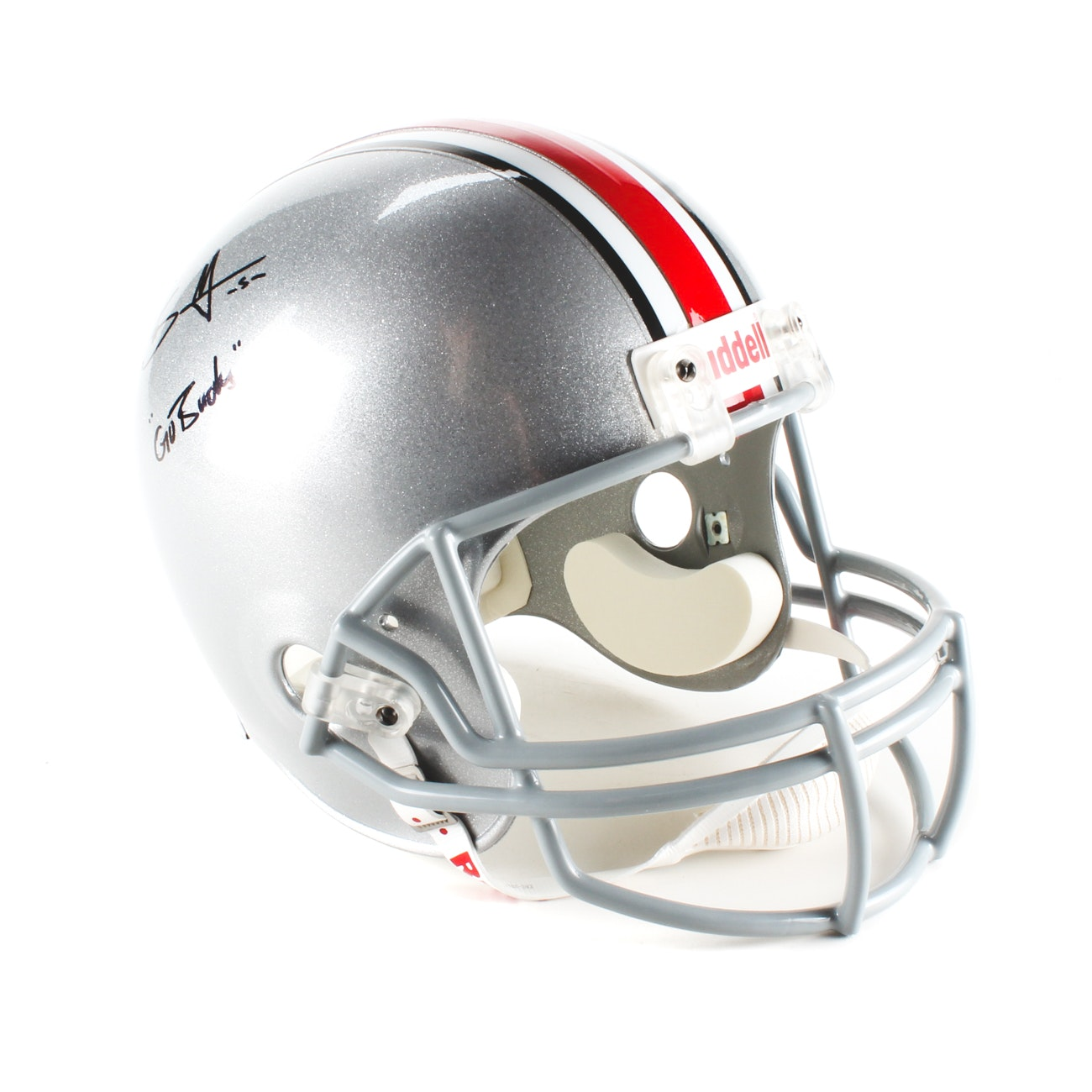 Braxton Miller Signed Helmet  COA