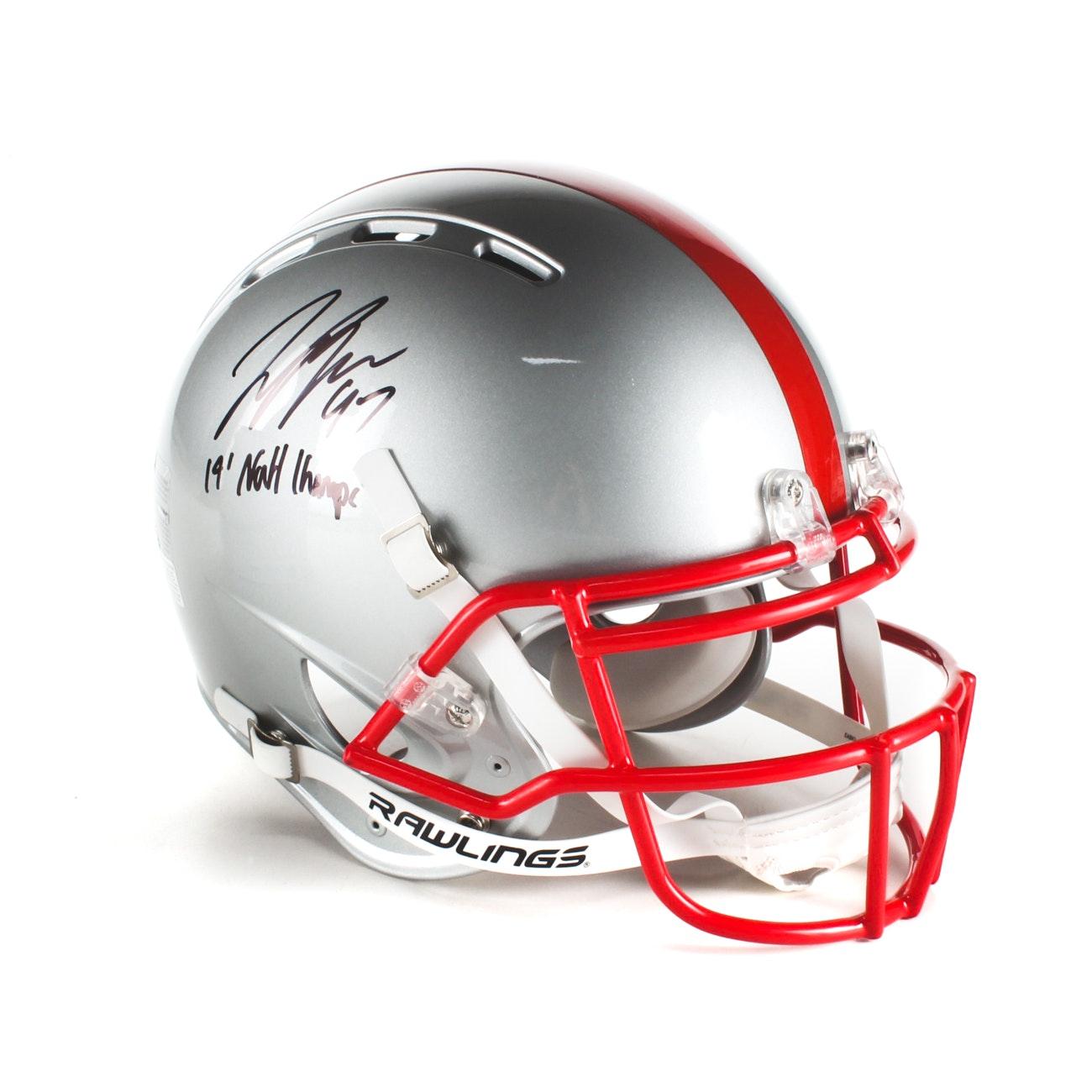 Joey Bosa Signed Ohio State Helmet  COA