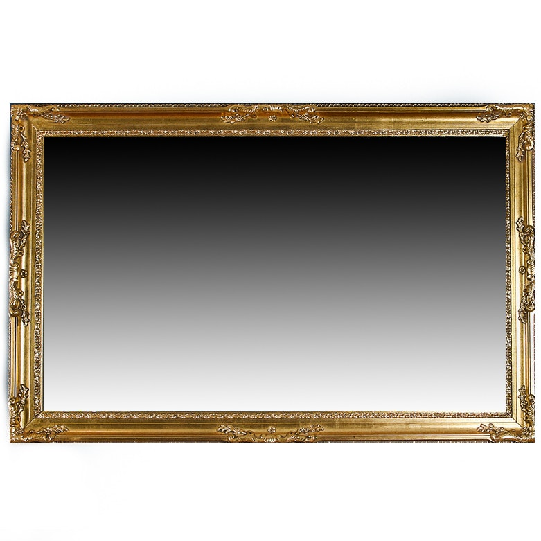 Victorian Style Beveled Wall Mirror