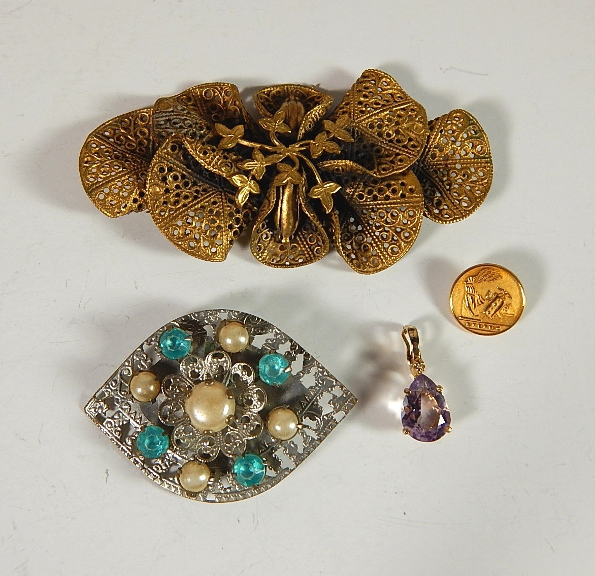 Vintage Brooches and Pendants