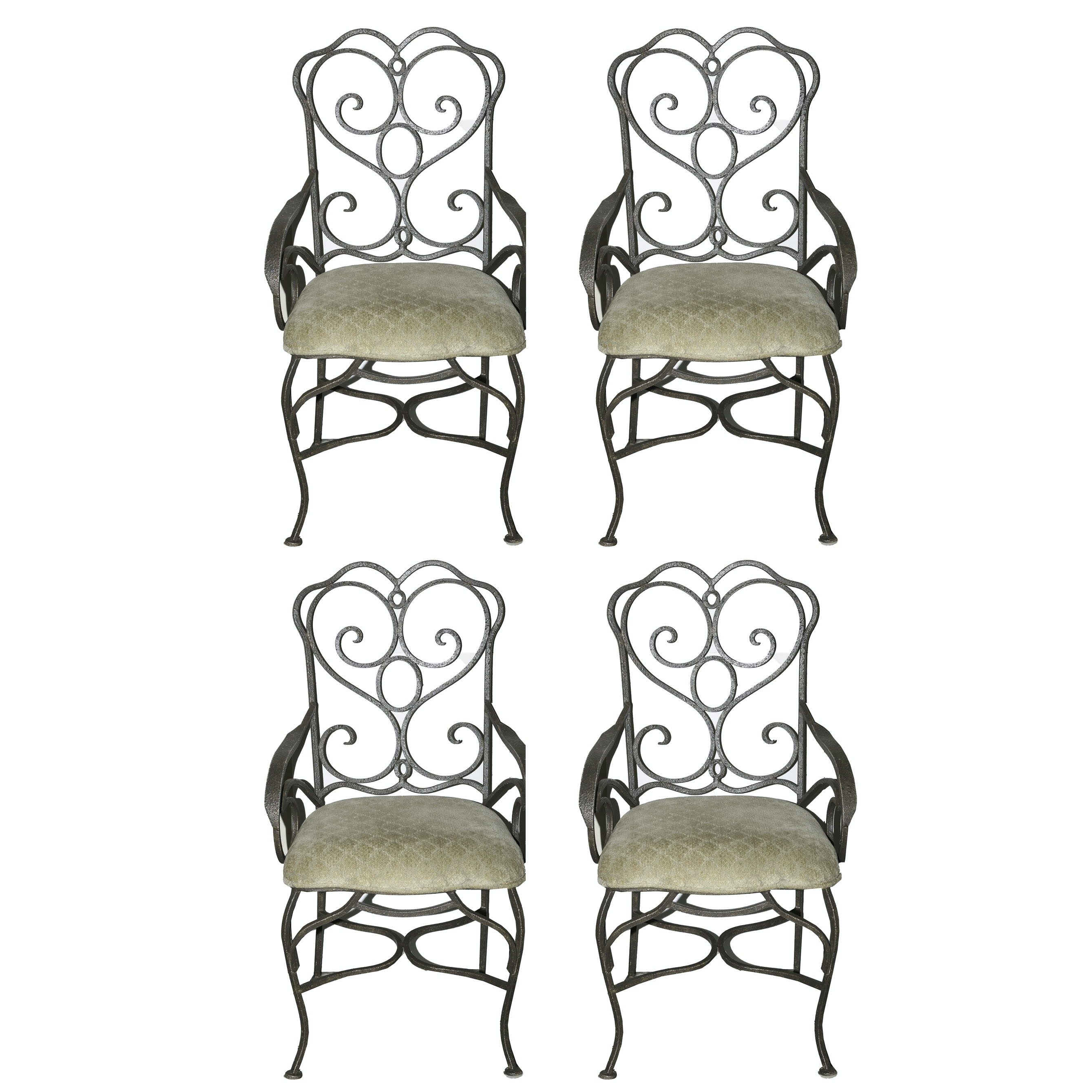 Metal Frame Dining Chairs