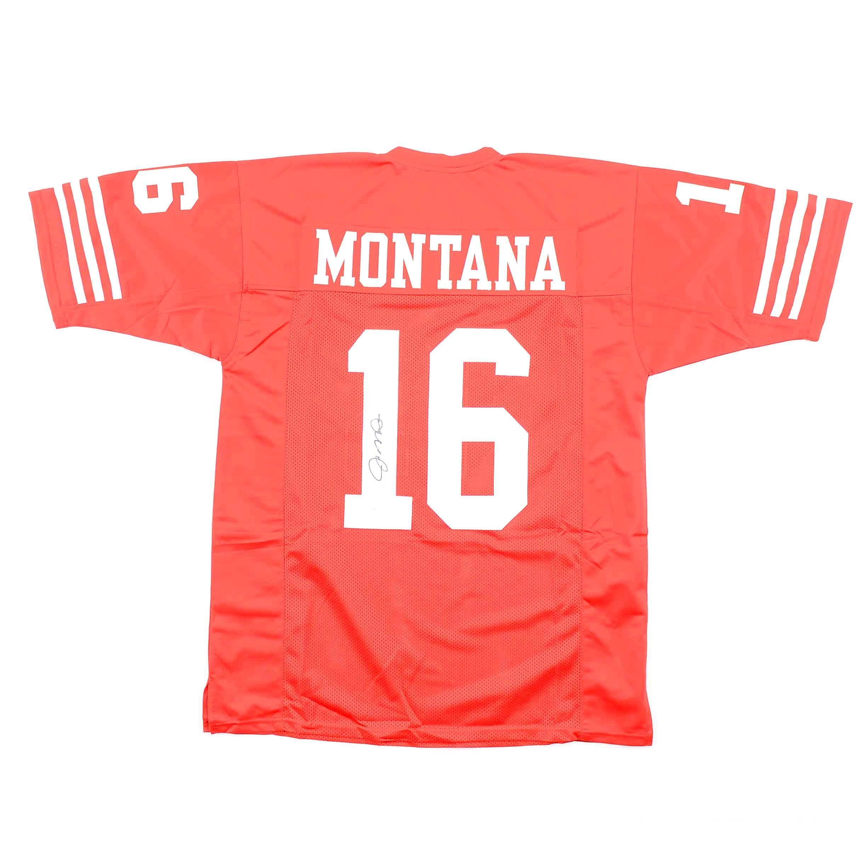 Joe Montana Signed 49ers Jersey  COA