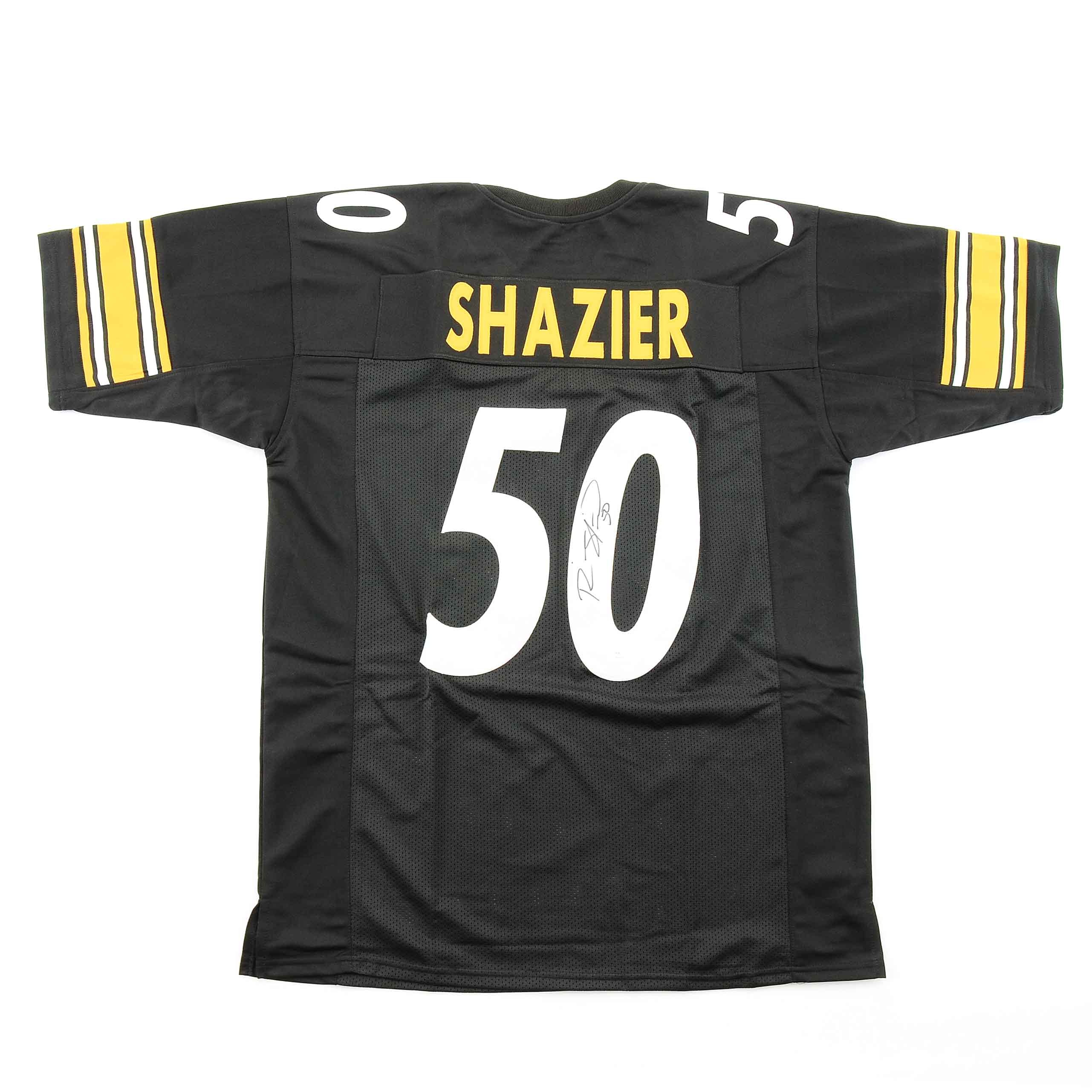 Ryan Shazier Signed Steelers Jersey  COA