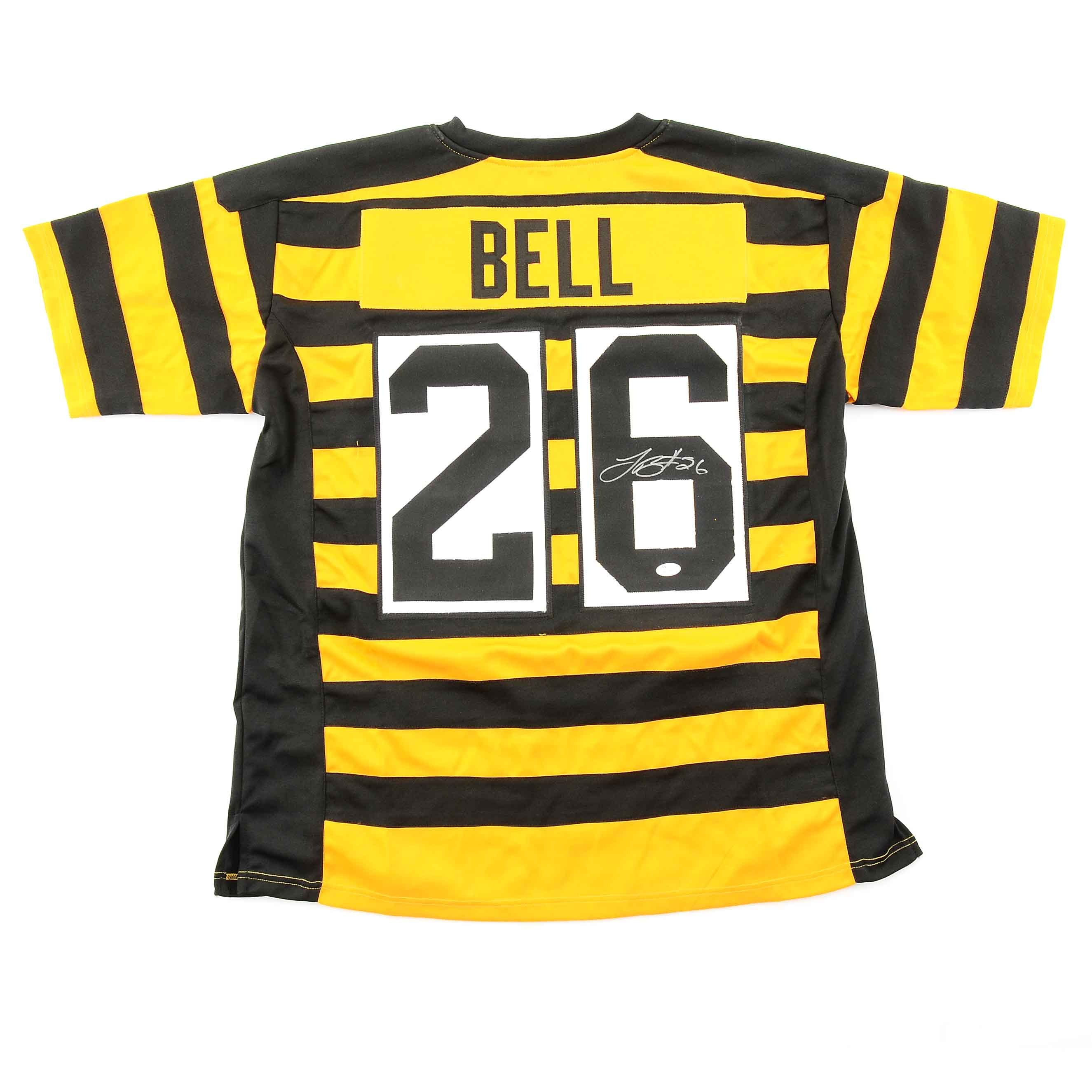 Le'veon Bell Signed Bumble Bee Steelers Jersey  COA