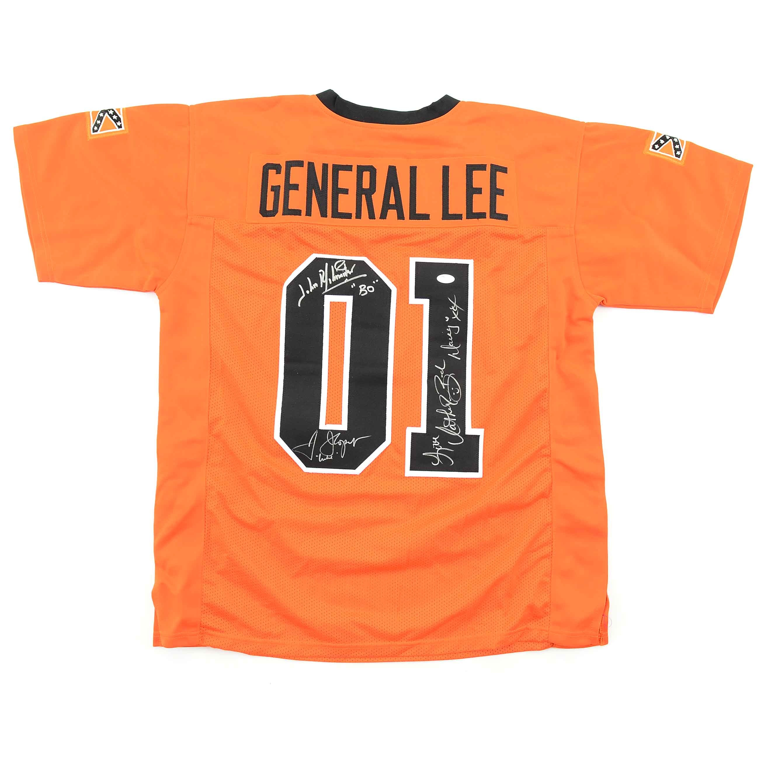 """General Lee"" Dukes of Hazzard Signed Jersey  COA"