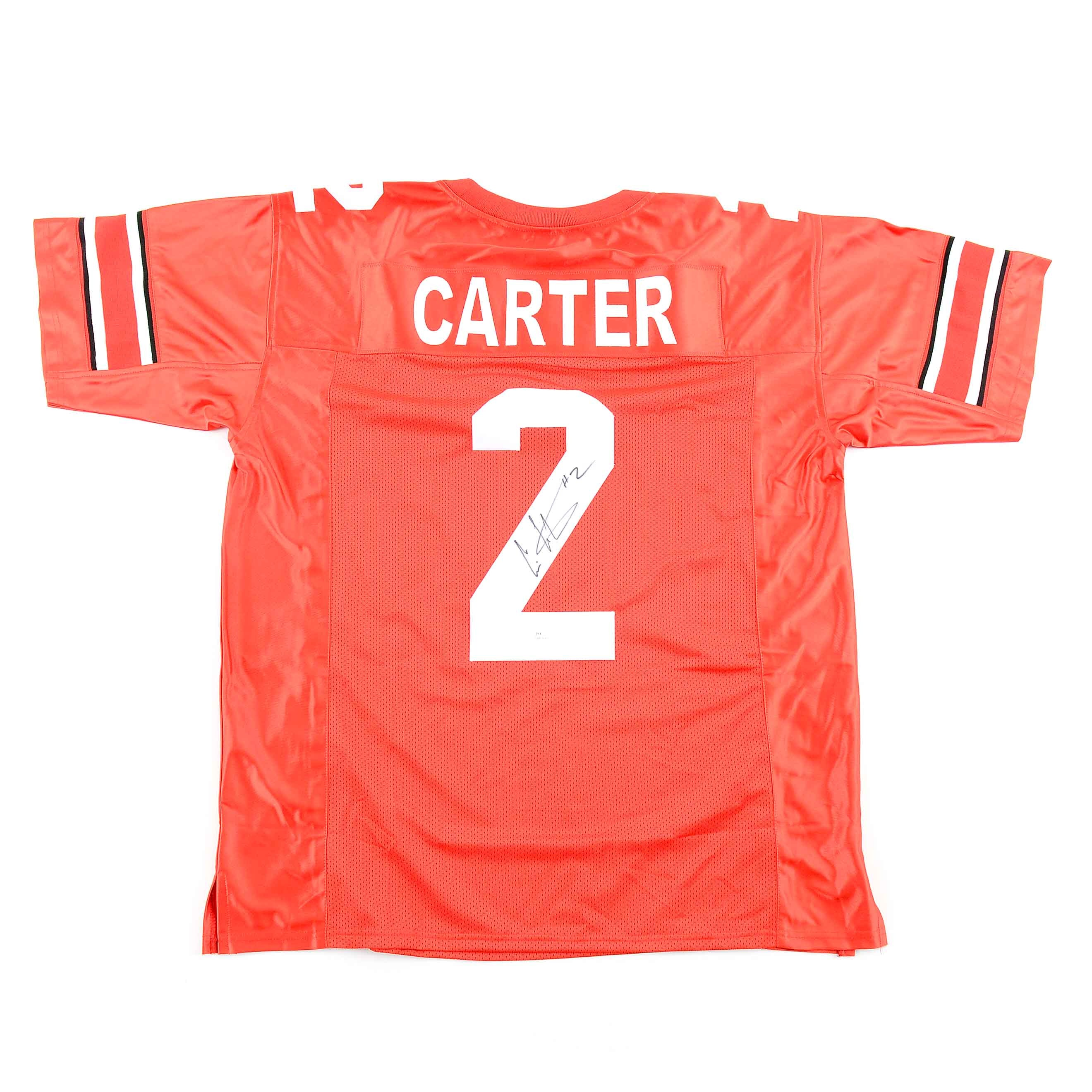 Chris Carter Signed Ohio State Jersey  COA