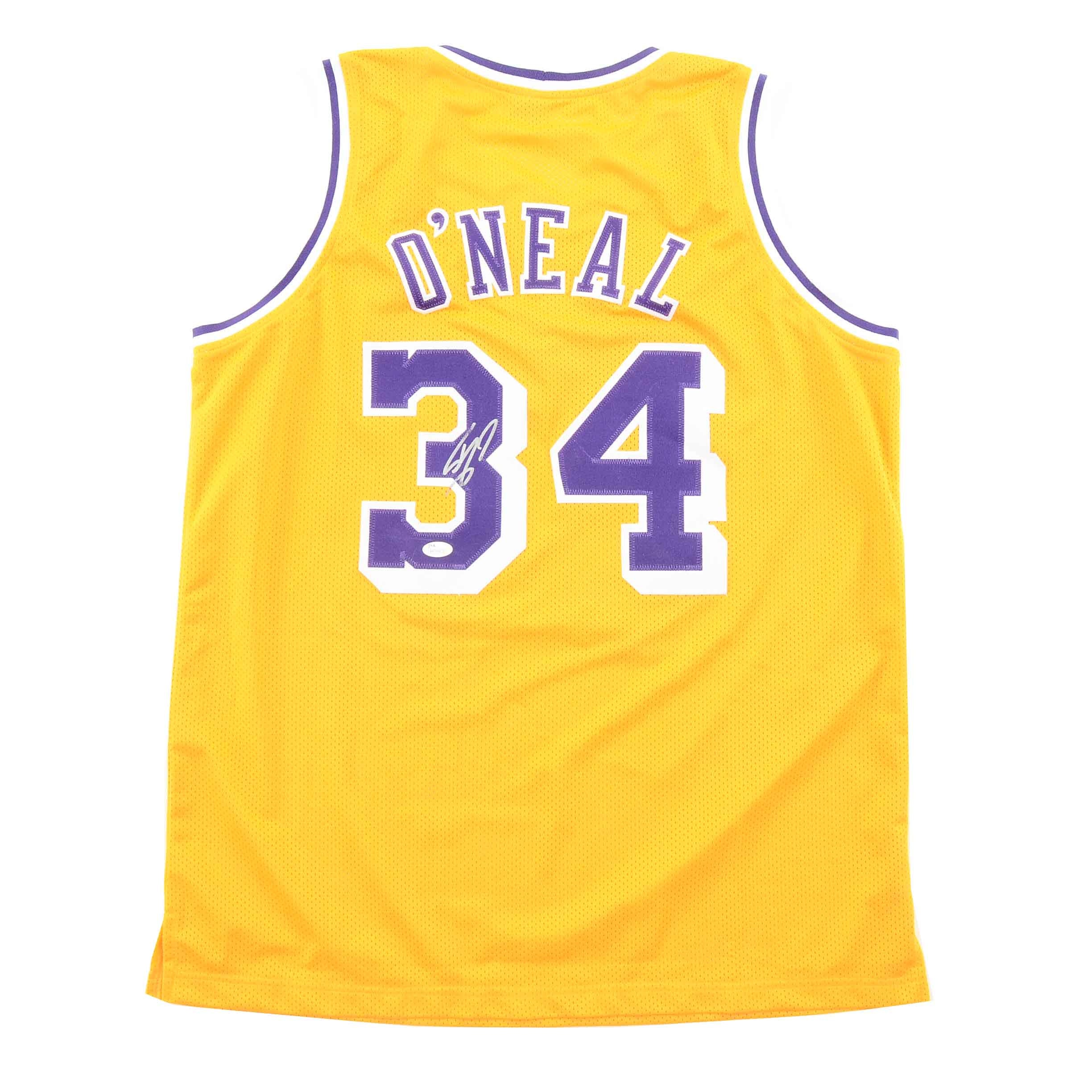 Shaquille O'Neal Signed Lakers Jersey  COA